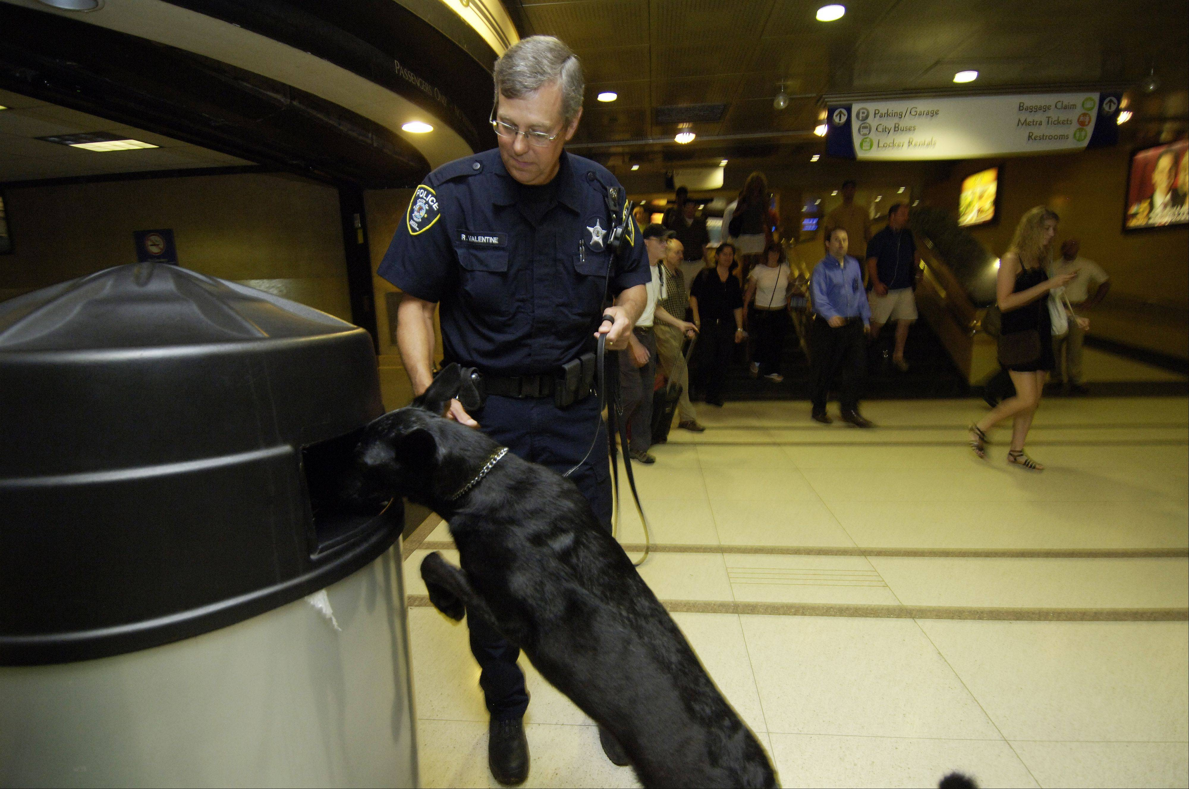 Daily Herald File Photo Metra is beefing up police presence on the train lines it operates.