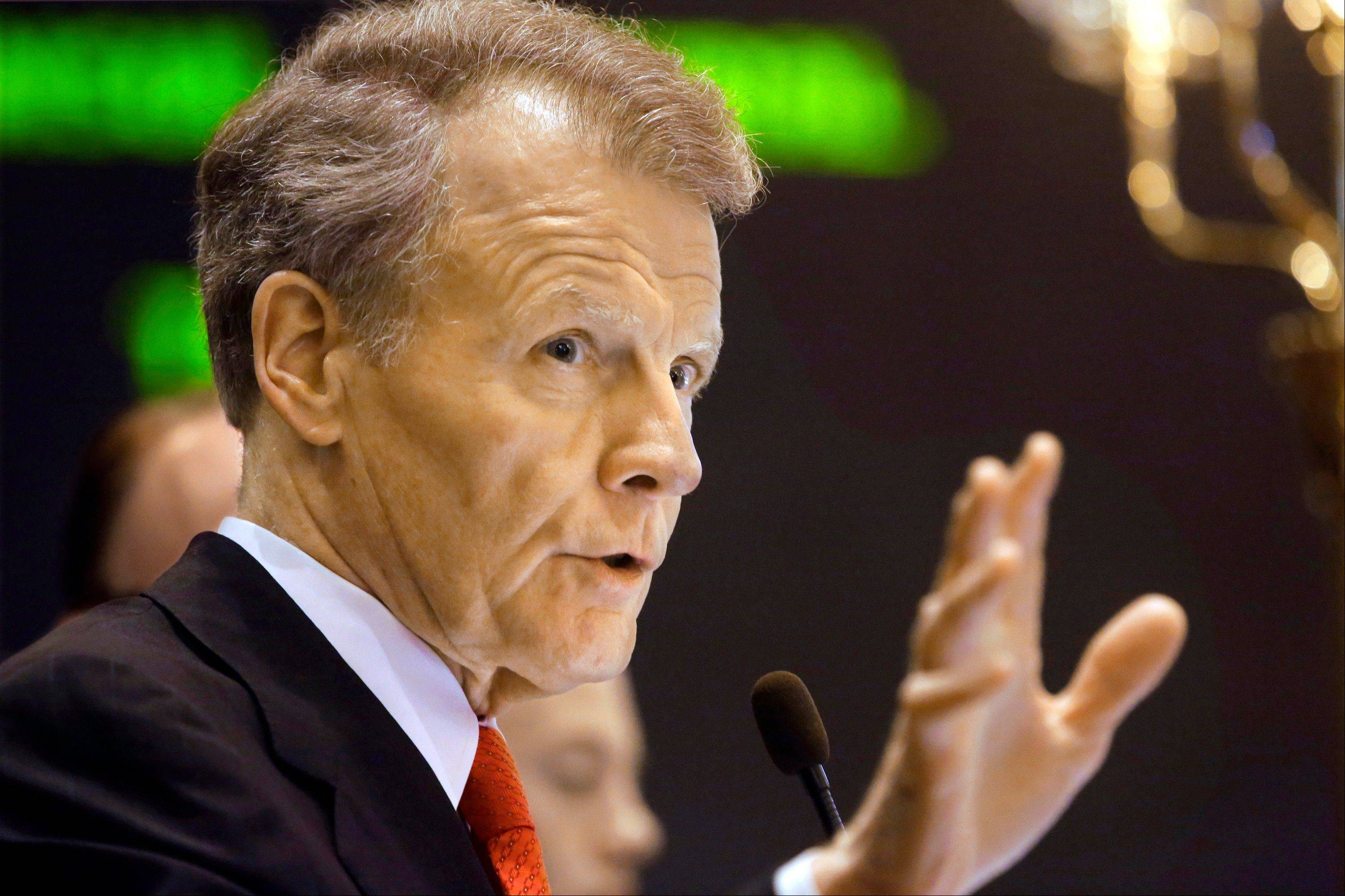 Madigan plans new vote on his pension plan