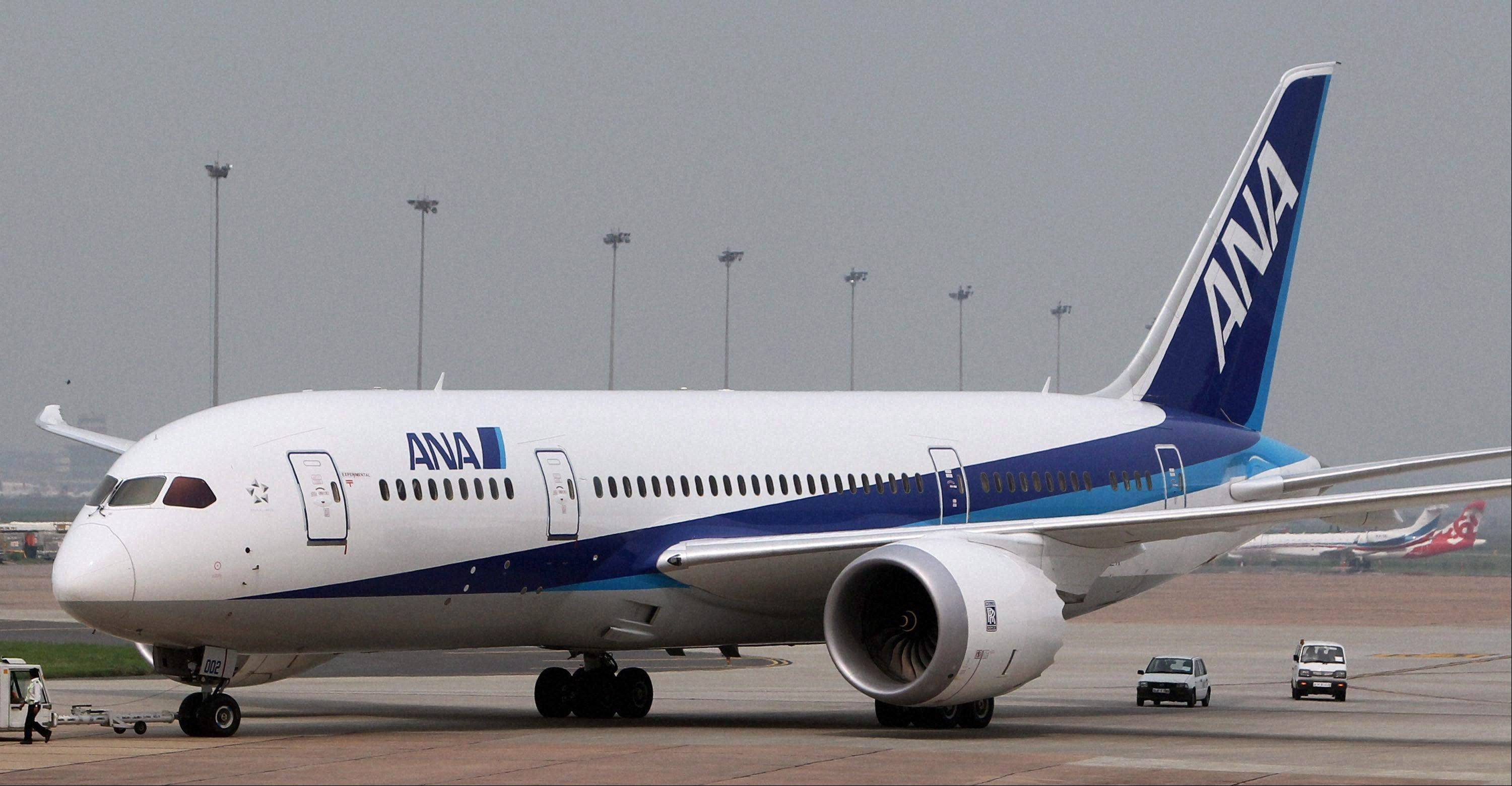 A Japanese carrier's Dreamliner had engine trouble before takeoff Wednesday, a day after a rival airline had a problem on another 787 plane.