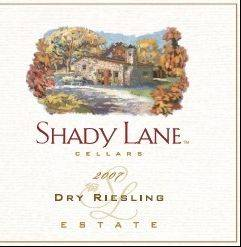 Shady Lane riesling from Michigan's Leelanau Peninsula