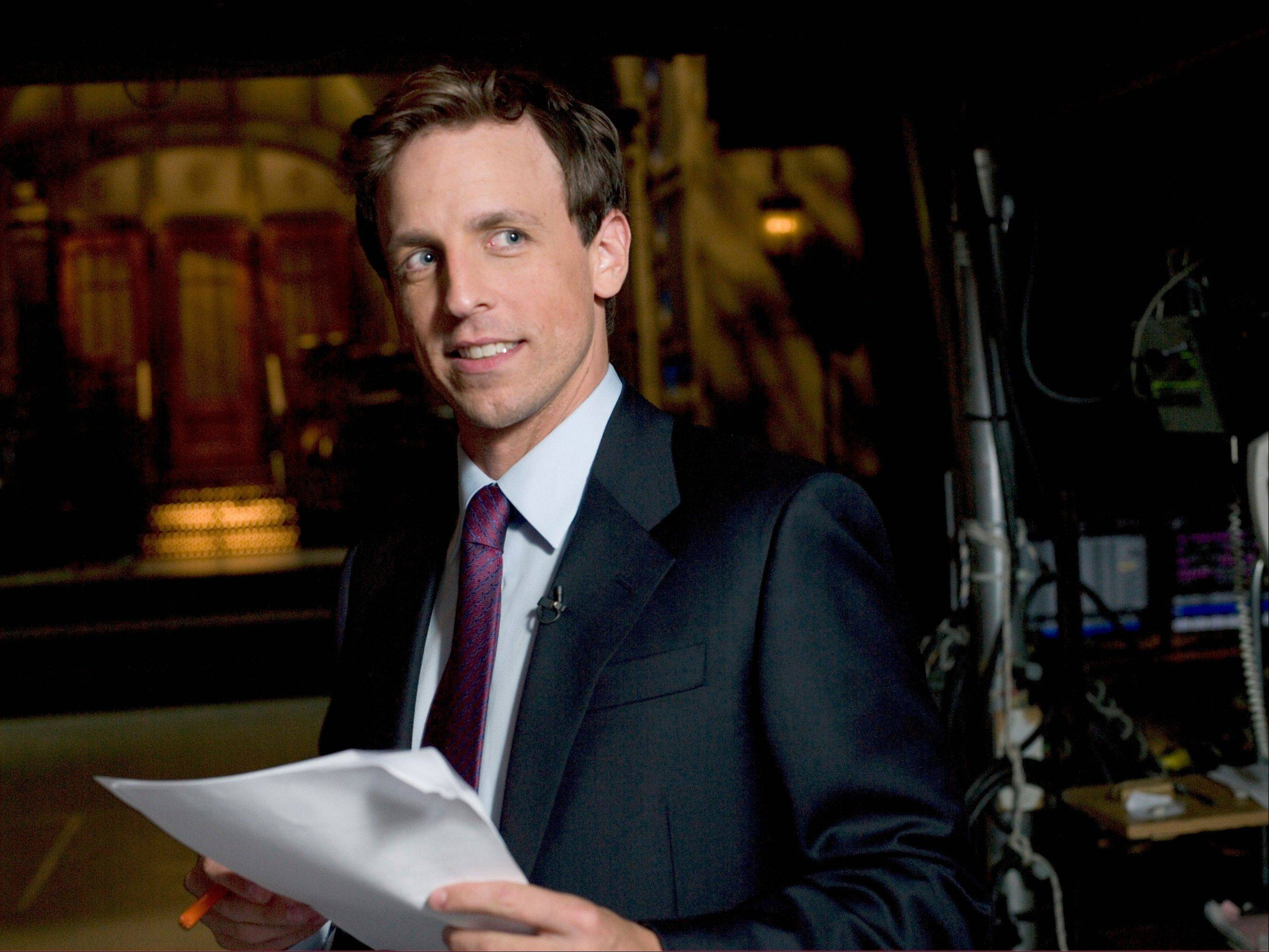 Seth Meyers is one of the big names headed to town for TBS Just for Laughs Chicago. See him at 7:30 p.m. Friday, June 14, at the Chicago Theatre.