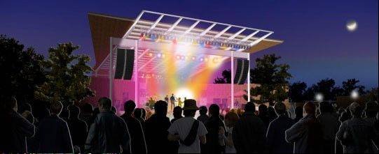 At night, Aurora city officials expect RiverEdge Park to be an enchanting scene. The park's $13.2 million Music Garden opens at 6 p.m. Friday, June 14, for Blues on the Fox.