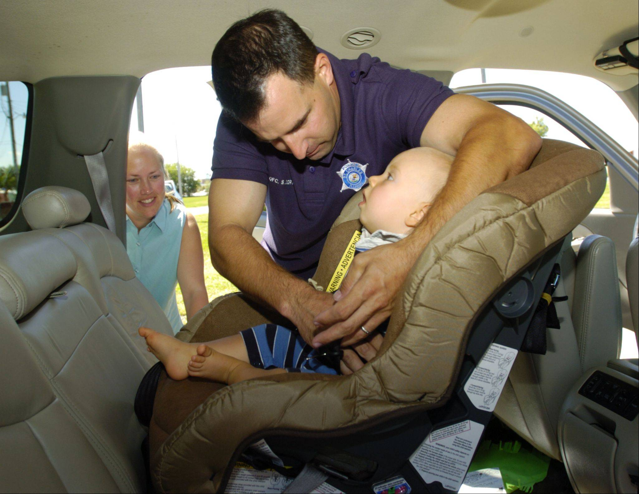 Daily Herald File PhotoHelp is on hand for parents and caregivers daunted by complicated child safety seats.