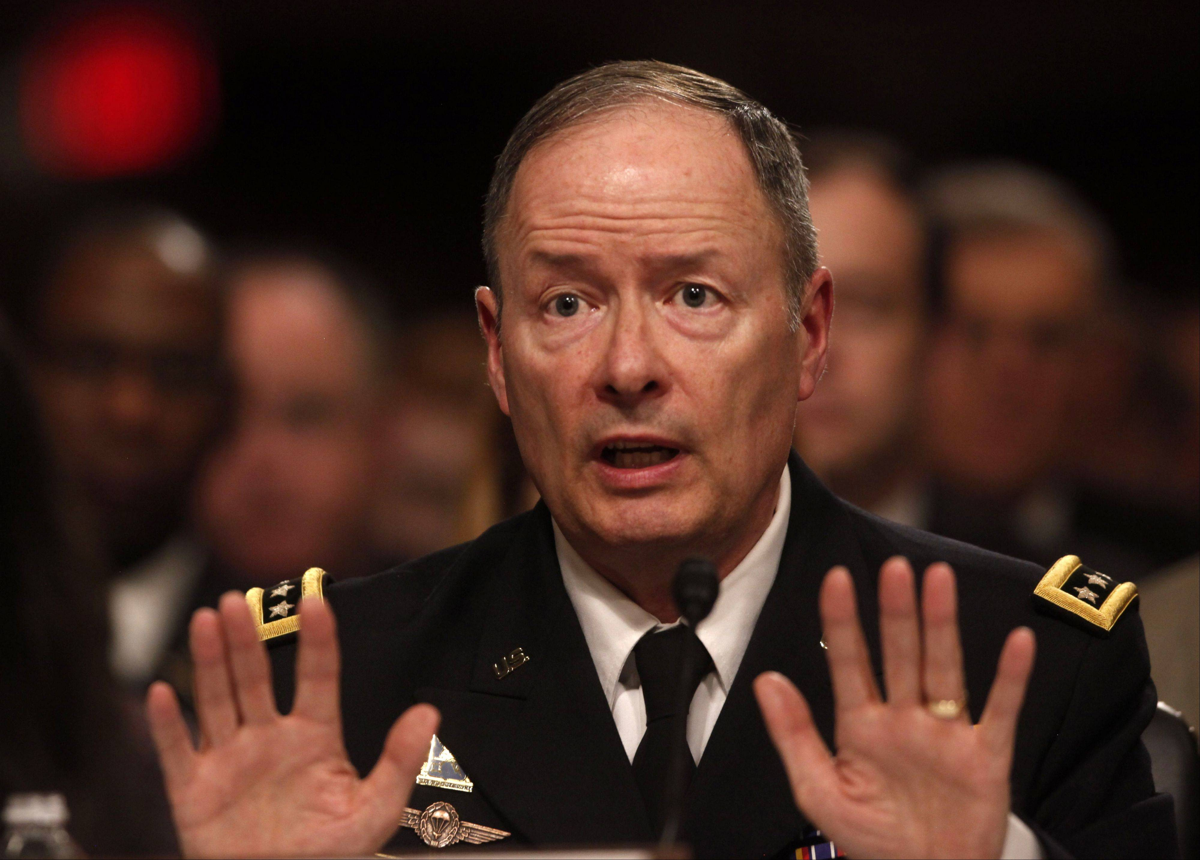 Gen. Keith Alexander testifies Wednesday before the Senate Appropriations Committee to explain NSA surveillance programs.