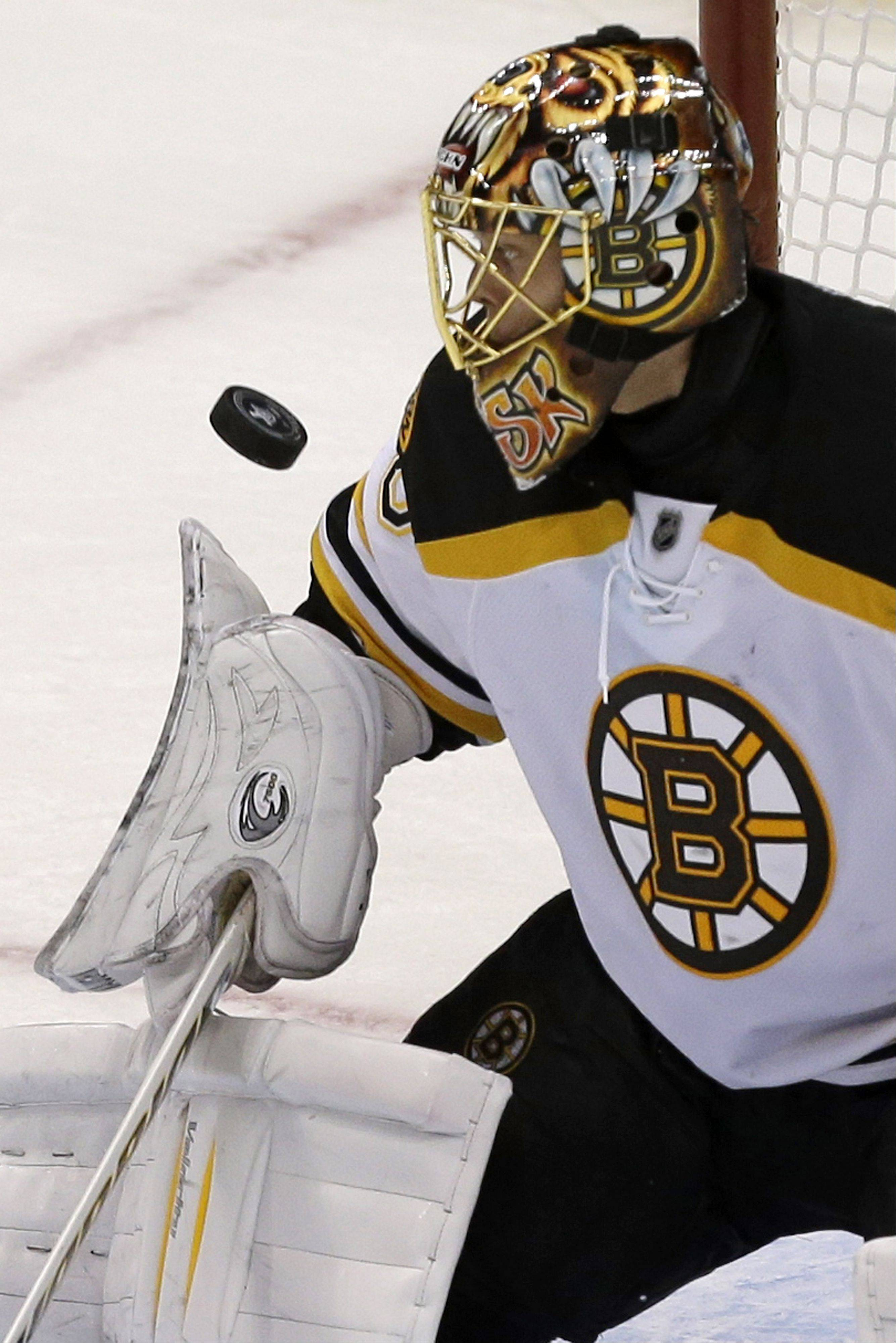 Bruins goalie Tuukka Rask shut down the high-scoring Penguins to help Boston reach the Stanley Cup Finals.