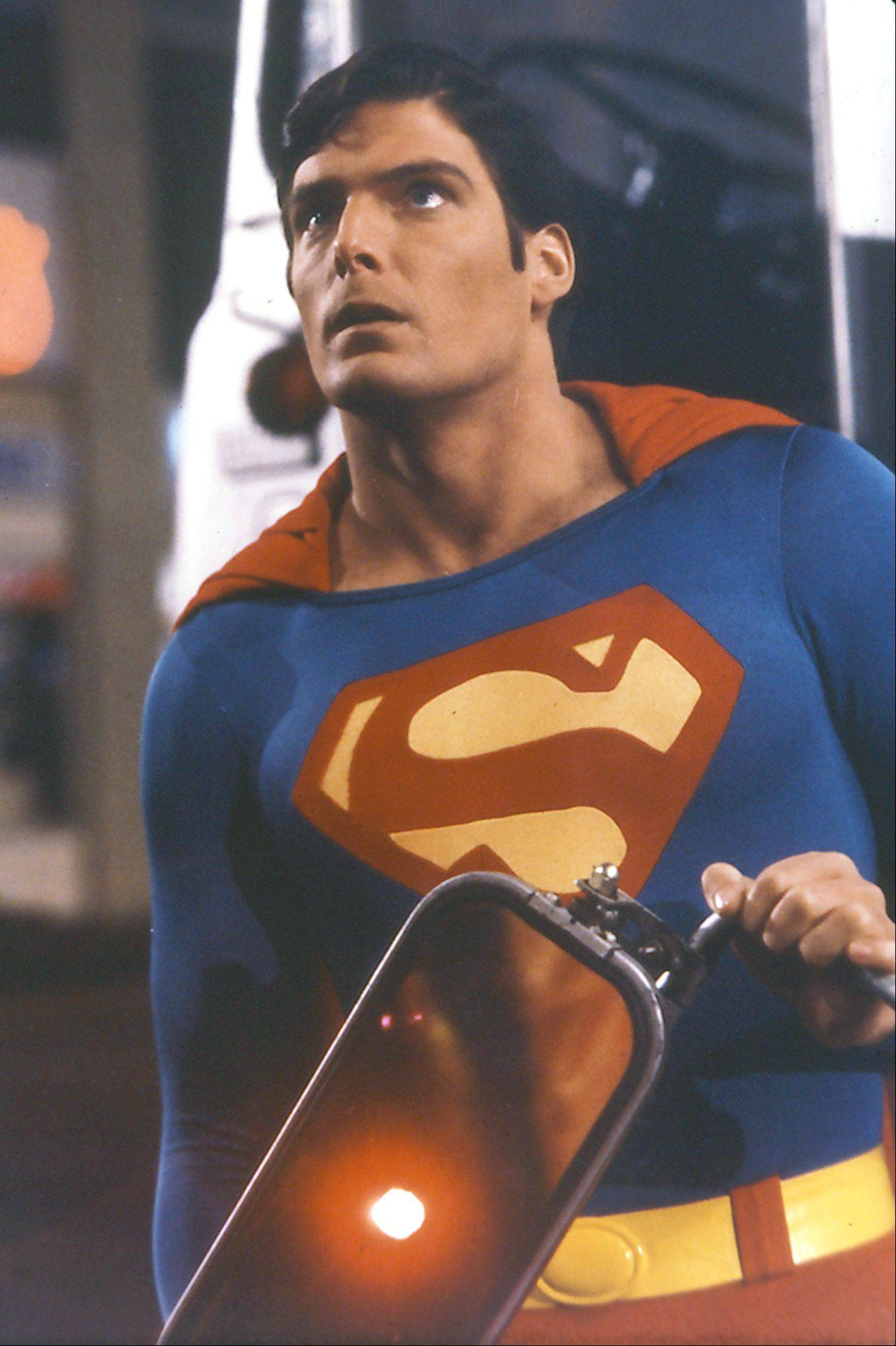"It took more than an hour before audiences saw Christopher Reeve donning his super suit in the 1978 fantasy ""Superman."""