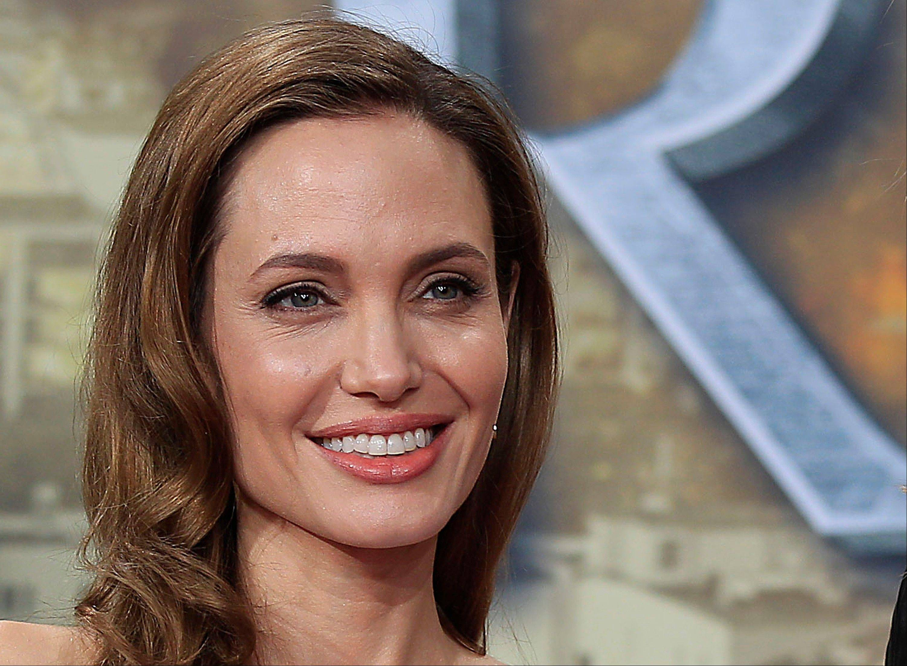 The Supreme Court ruled that companies cannot patent parts of naturally-occurring human genes throws out patents held by Utah-based Myriad Genetics Inc. on an increasingly popular breast cancer test brought into the public eye recently by actress Angelina Jolie, seen here, who revealed she had a double mastectomy because of one of the genes involved in this case.