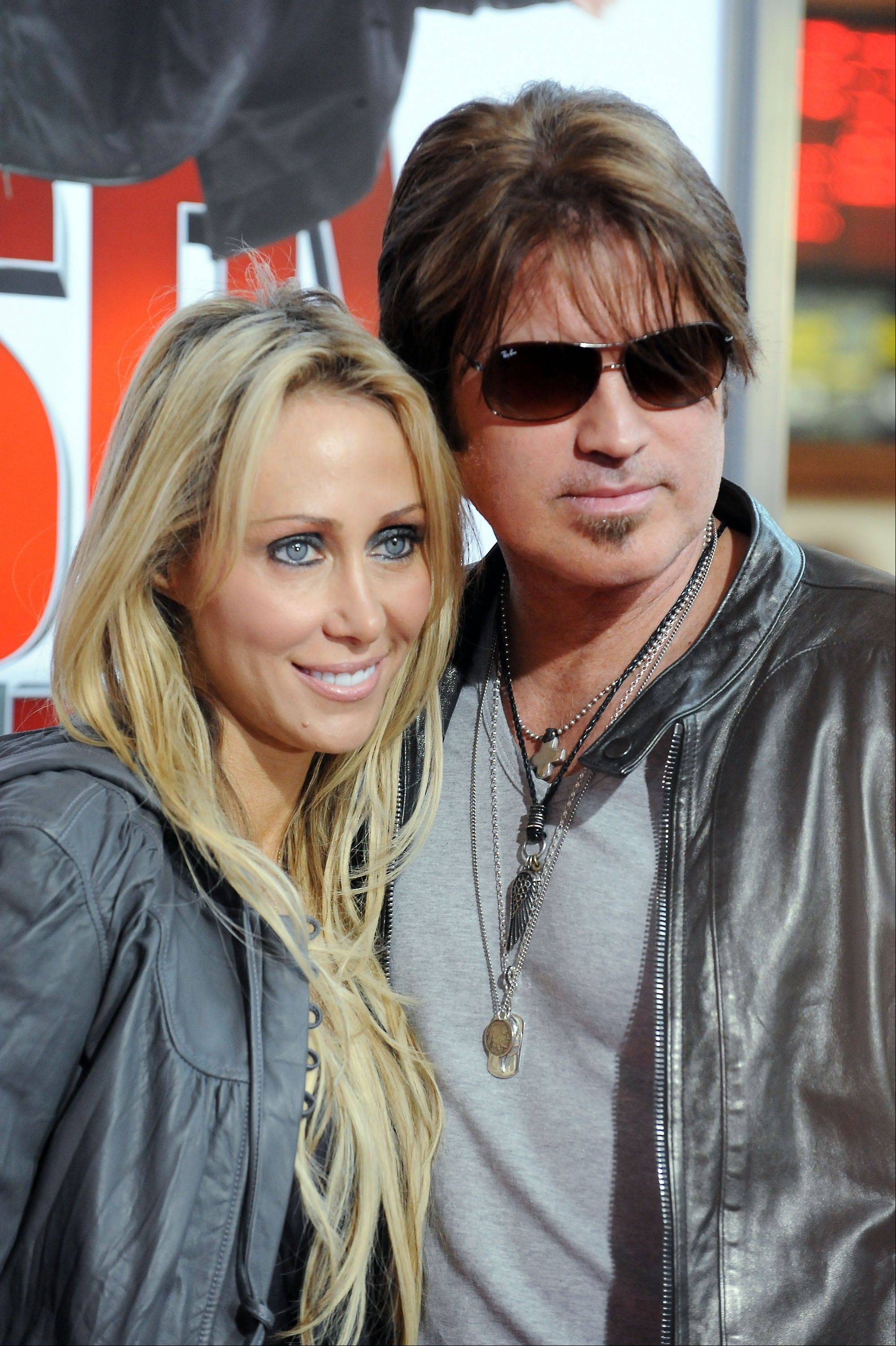 Court records show Tish Cyrus filed for divorce from Billy Ray Cyrus on Thursday in Los Angeles Superior Court.