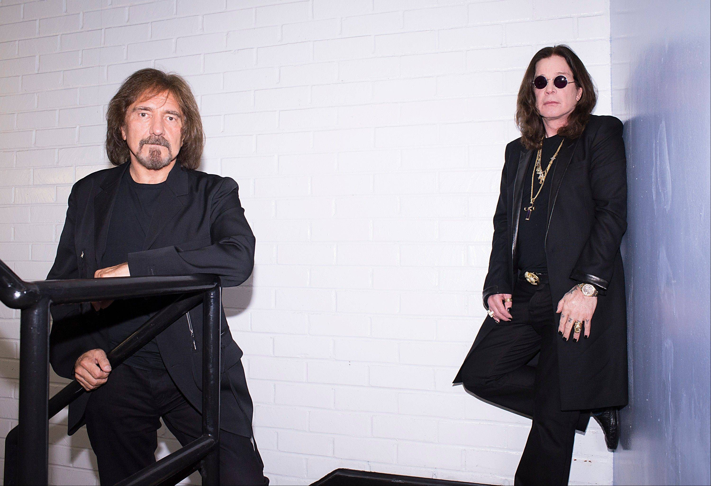 "Ozzy Osbourne, right, and musician Geezer Butler of Black Sabbath released the Rick Rubin-produced ""13"" this week after more than two years of writing and recording."