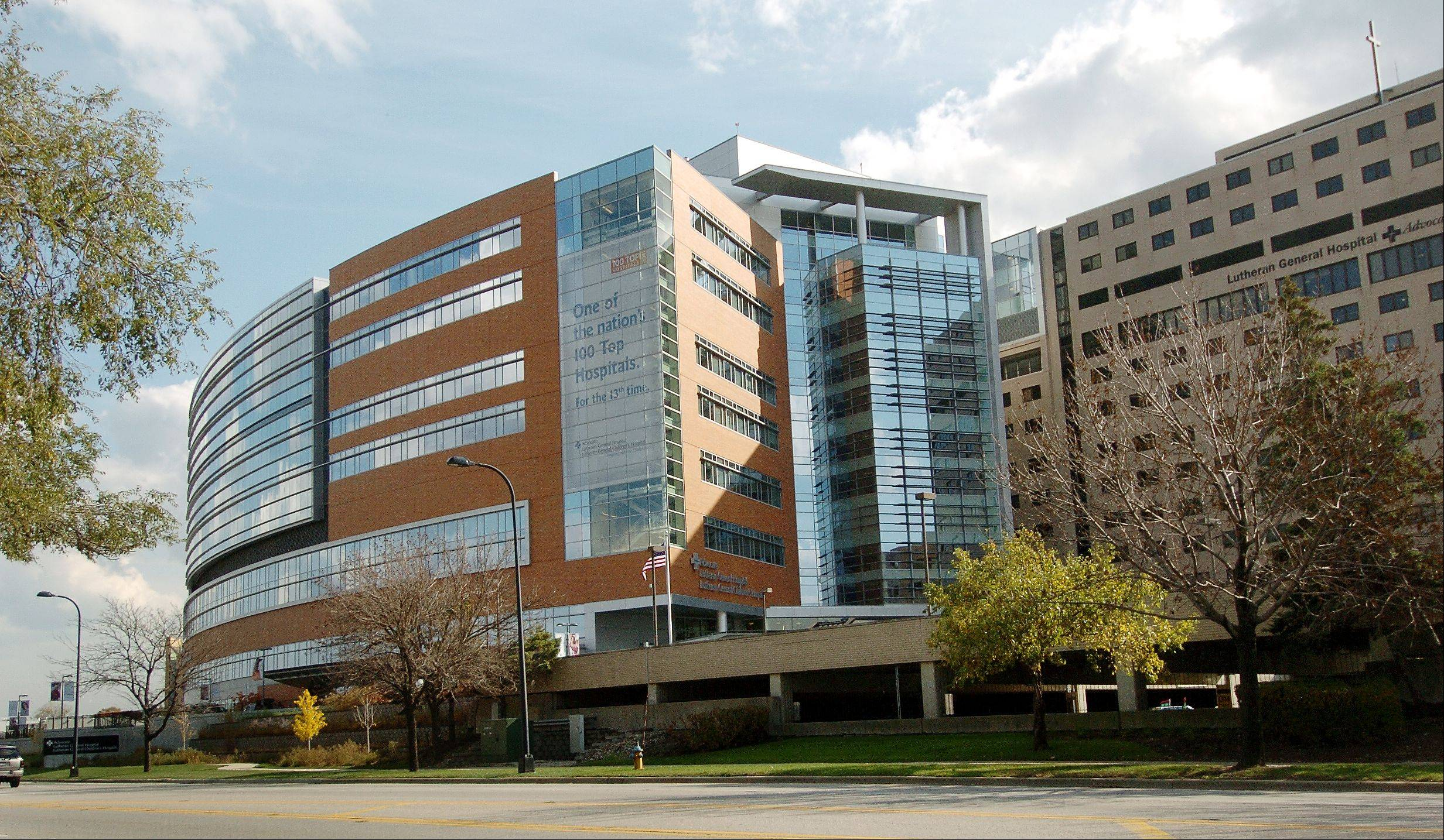 Advocate Lutheran General Hospital in Park Ridge is planning a nearly $40 million emergency room expansion.