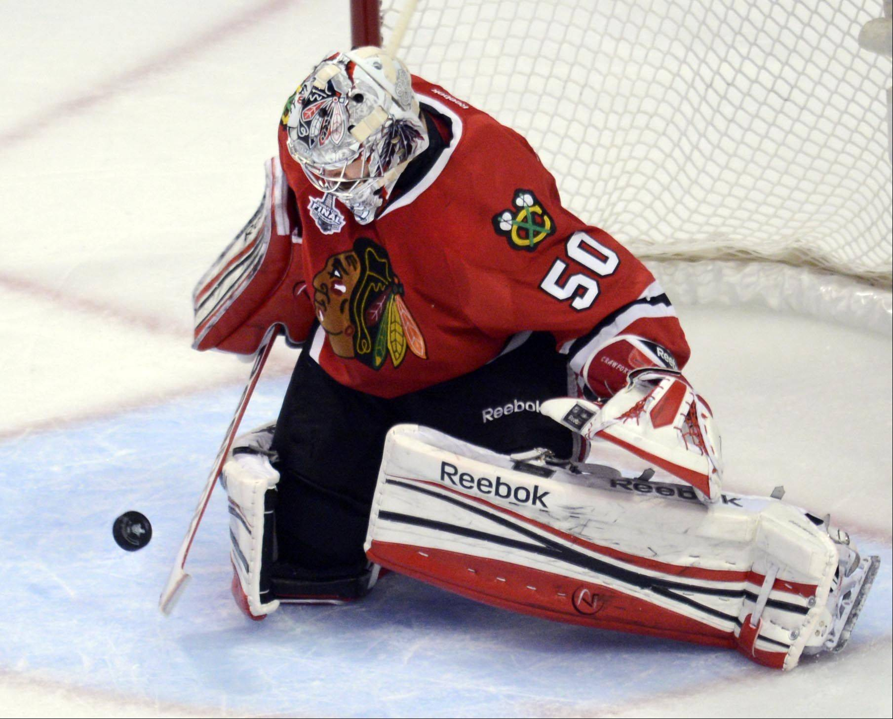 Olympics could be in future for Blackhawks' Crawford