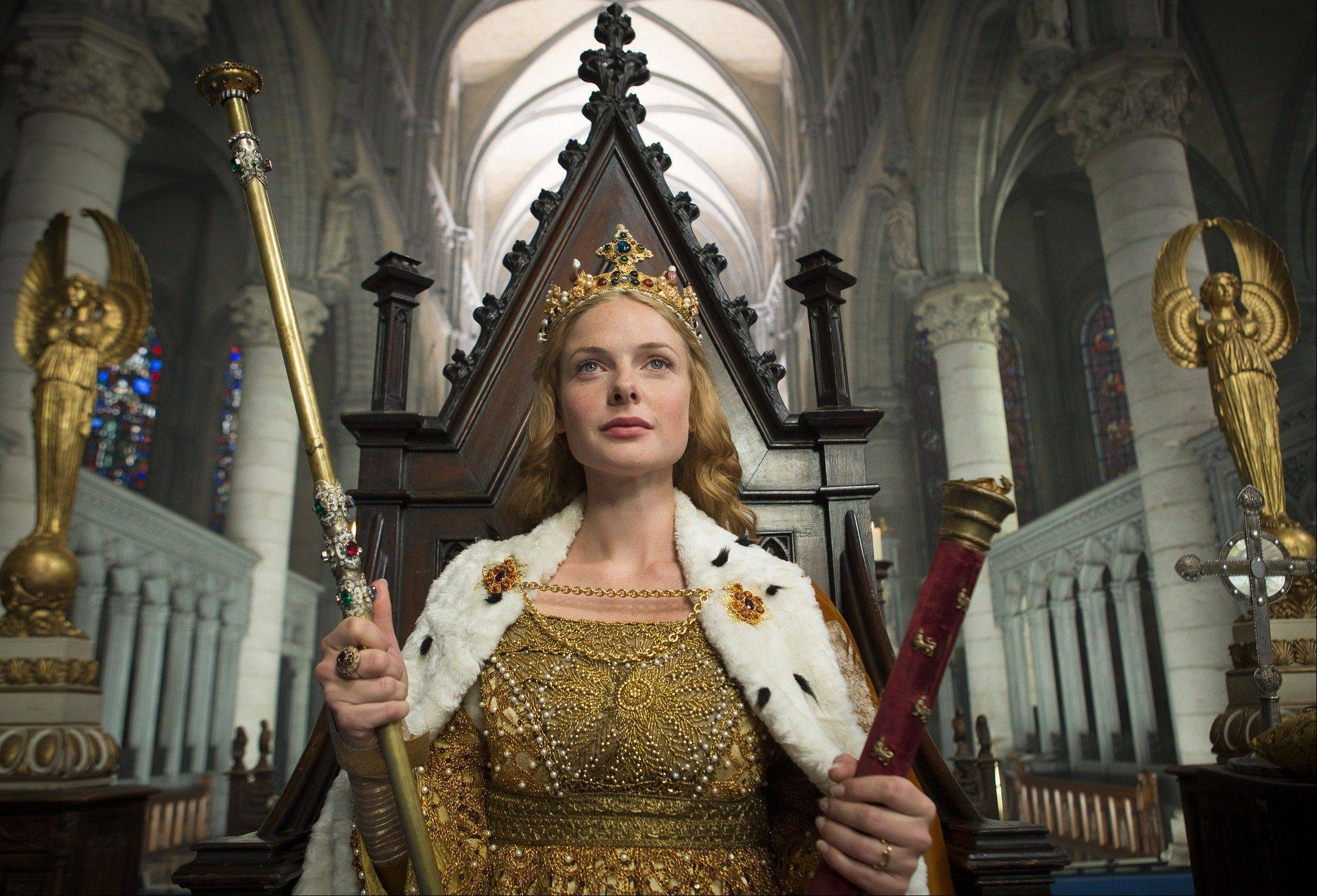 "History meets soap opera in Starz's ""The White Queen,"" starring Rebecca Ferguson as Elizabeth Woodville. The drama debuts Aug. 10."