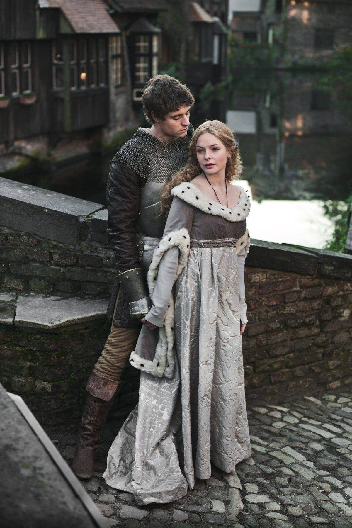 "History meets soap opera in Starz's ""The White Queen,"" starring Max Irons as King Edward and Rebecca Ferguson as Elizabeth Woodville. The drama debuts Aug. 10."