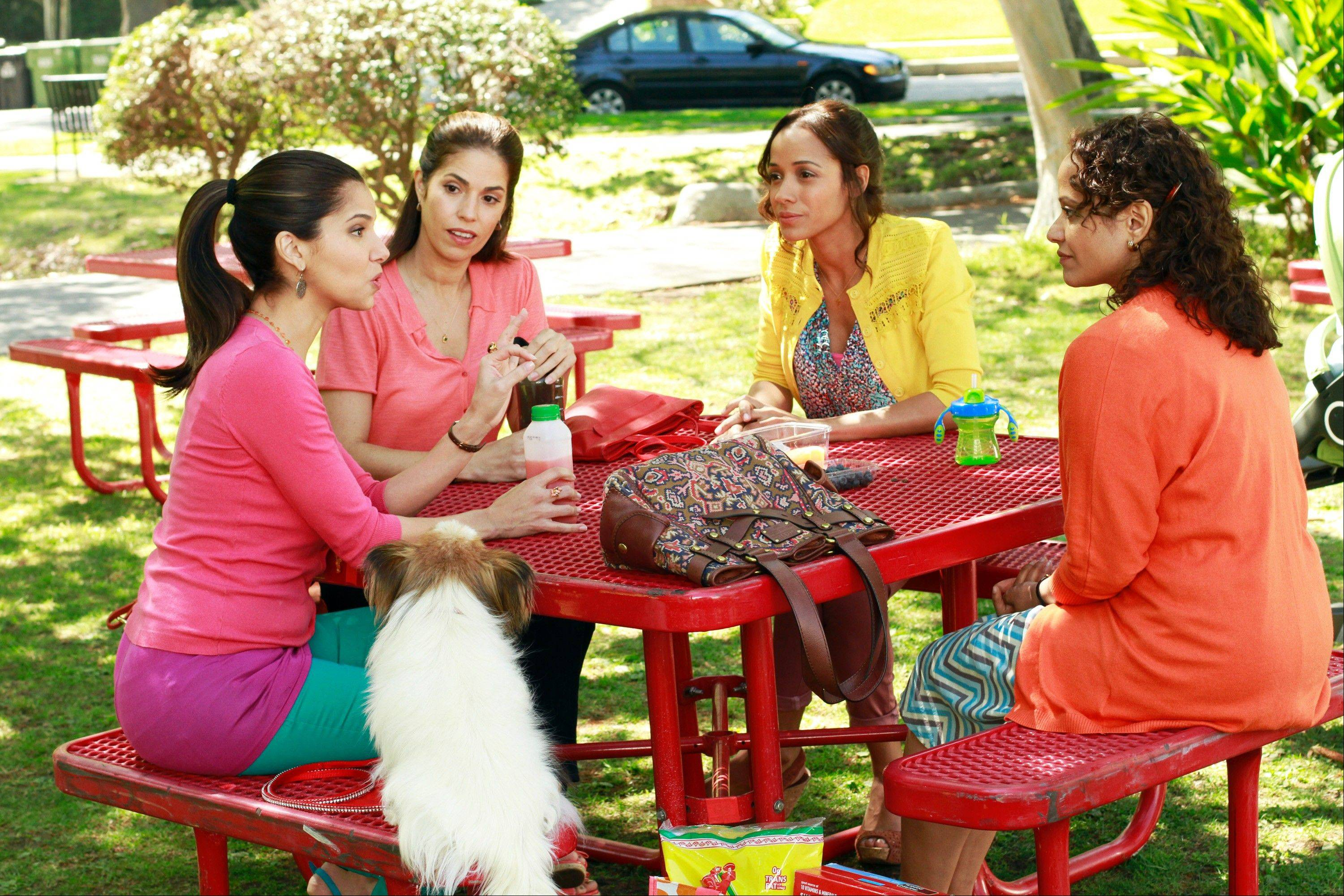 "Roselyn Sanchez, Ana Ortiz, Dania Ramirez and Judy Reyes are up to no good on Lifetime's ""Devious Maids,"" premiering Sunday, June 23."