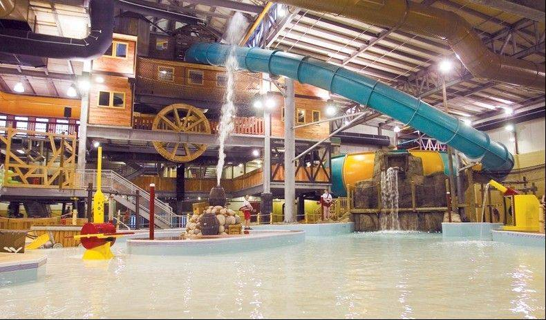 After checking out weekly the rodeo at Double JJ Resort dude ranch in Rothbury, Mich., your family can relax and have a blast in the indoor water park, which features Michigan's tallest indoor water slide.