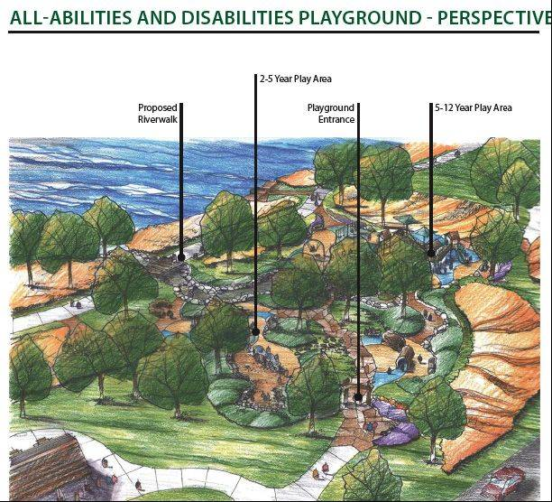 The IM ABLE all-inclusive playground project in South Elgin will cost about $1.3 million. So far, it has generated just under $400,000 in cash donations and $100,000 in in-kind donations, plus $53,000 in grants.