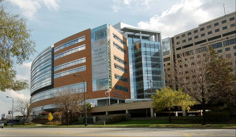 Advocate lutheran general hospital seeks to expand er for Park ridge building department