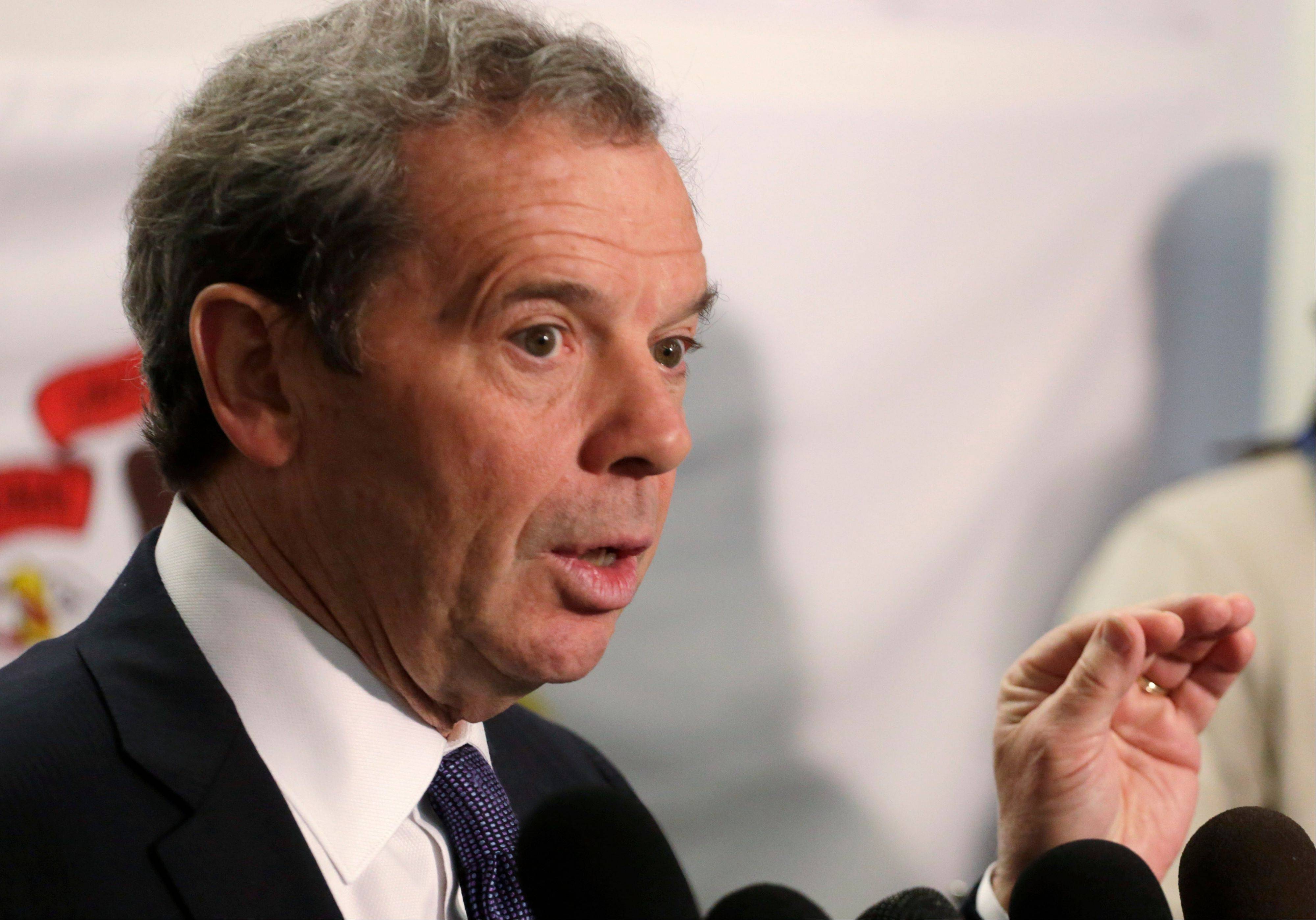 Senate President John Cullerton is not optimistic House Speaker Michael Madigan's pension proposal will pass in the Senate.