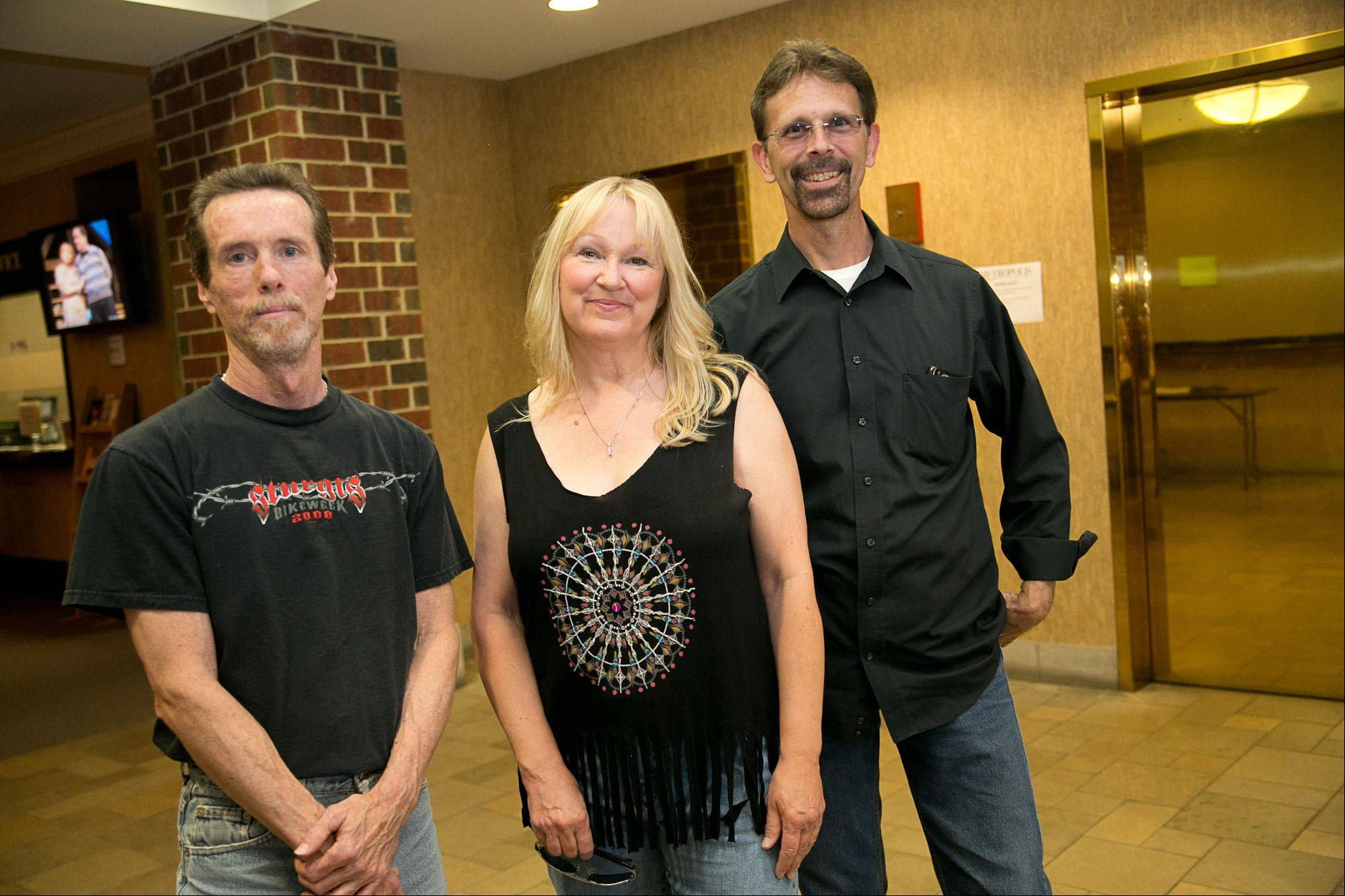 MELZ band -- featuring, from left, Gary Ehlebracht of Naperville, Julie Zuker of Schaumburg and Dan Lawler of Elk Grove Village -- is one of the Top 30 finalists in Suburban Chicago's Got Talent.