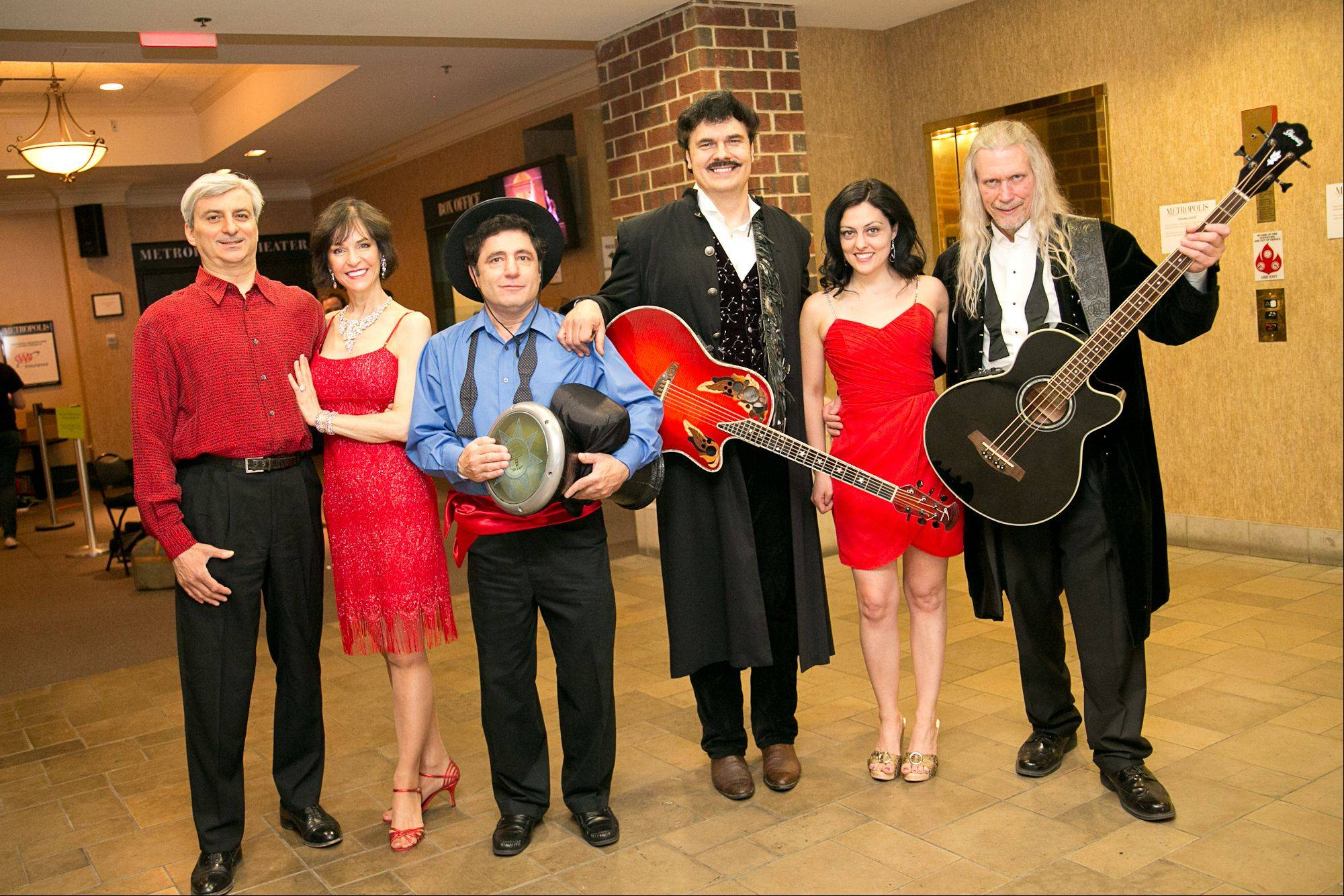 Among the Top 30 finalists for Suburban Chicago's Got Talent is the band Tempest Rising, featuring, from left, Gene Bayer of Chicago, Suzi Tillman of Chicago, Victor Varjan of Chicago, John Koziol of Lake Forest, Bryna Tillman of Chicago and Art Scheer of Niles.