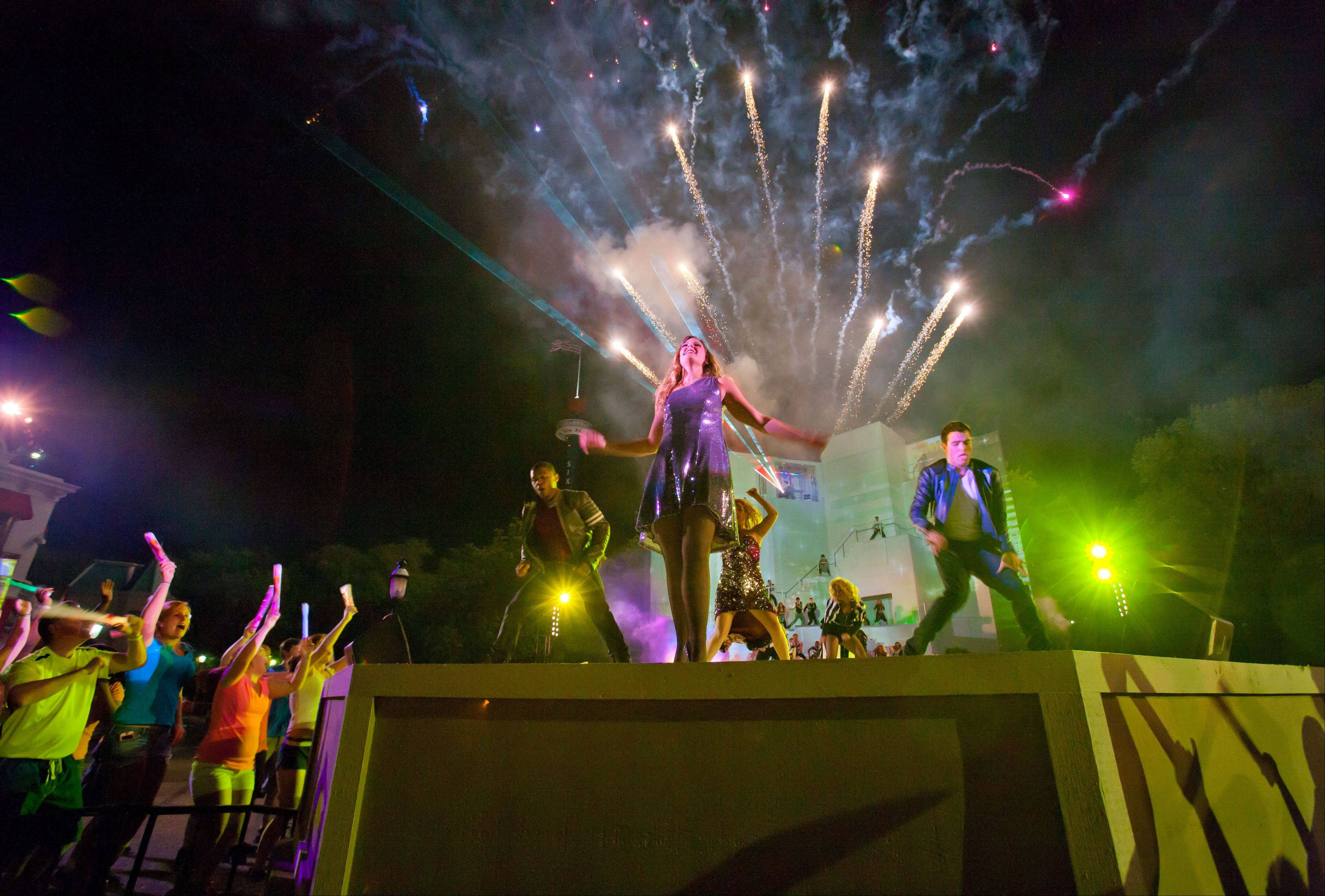 Six Flags Great America will debut igNIGHT at the theme park Saturday. It's an interactive stage show, dance club that takes place in the center of hometown square.