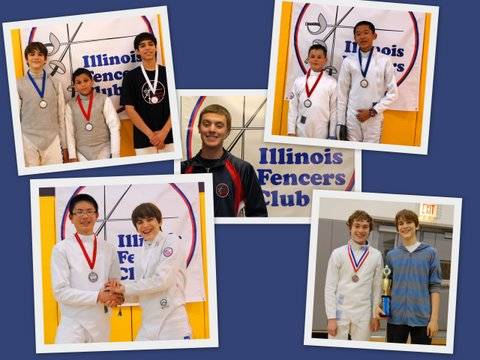 top left picture: from left: Jakub Nowak, Andrew Vold, Marco Mendoza top right: from left: Peter Kulaga and Alexander J Mikkelson middle: Tony Coorod left bottom: Zimo Zhu and Jakub Nowak left right: David Vishny and Jakub Nowak