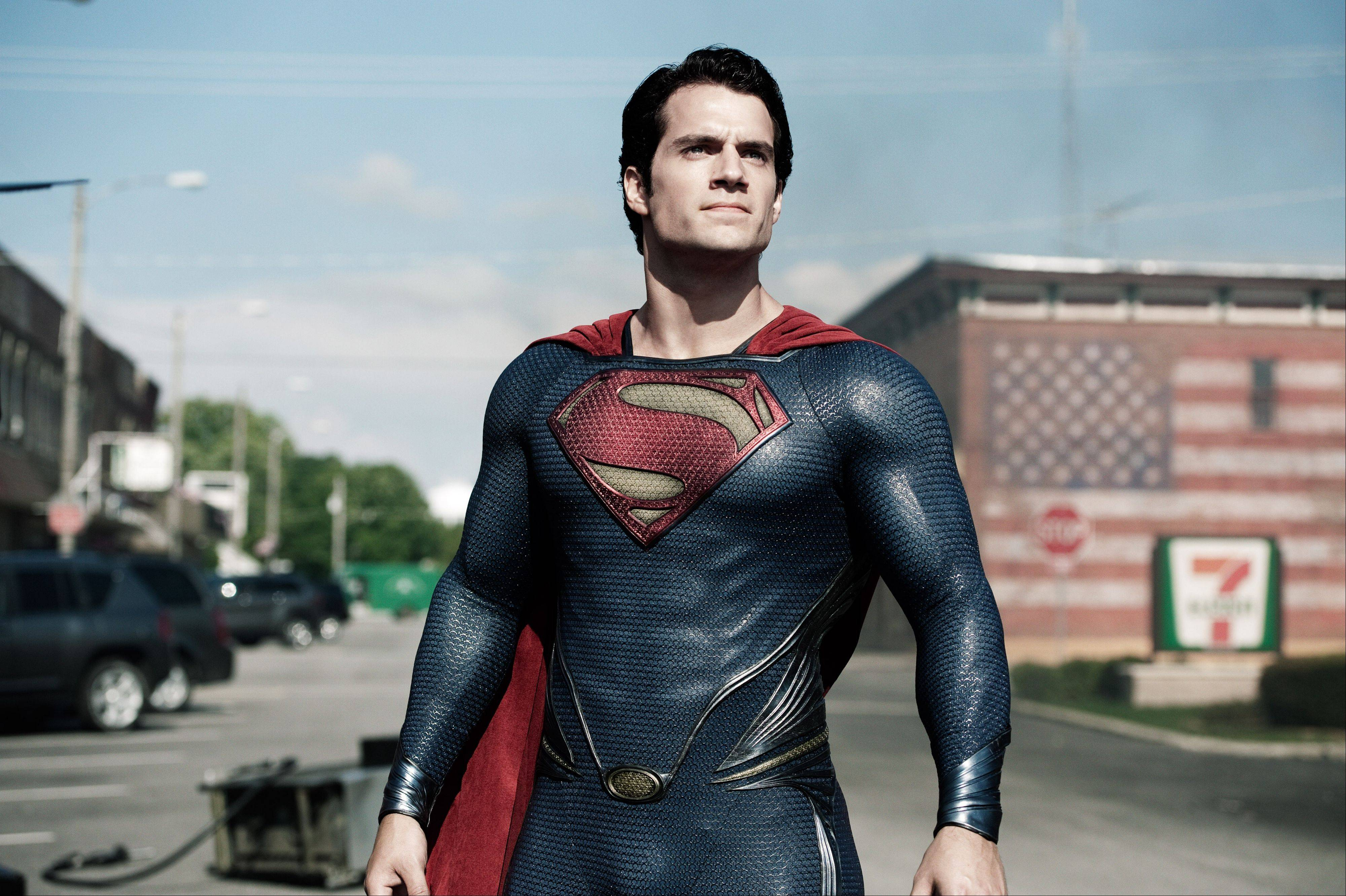 "Clark Kent (Henry Cavill) comes out as Superman in the retelling of the comic book hero's origin in ""Man of Steel."") The lastest reboot of the Superman franchise banked $113 million in its opening weekend."
