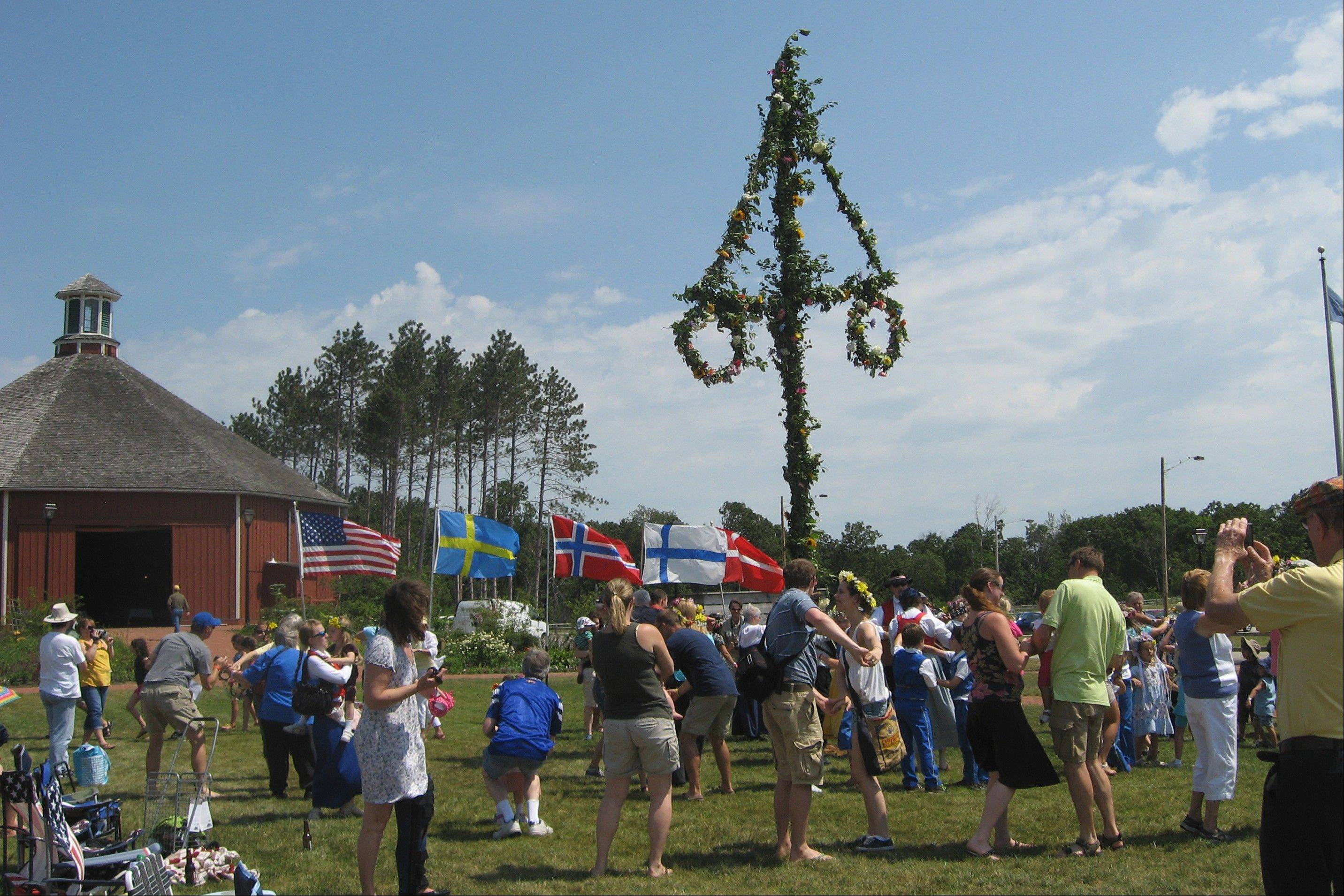 Celebrate Wisconsin folk life at Old World Wisconsin in Eagle the last two weekends in June.