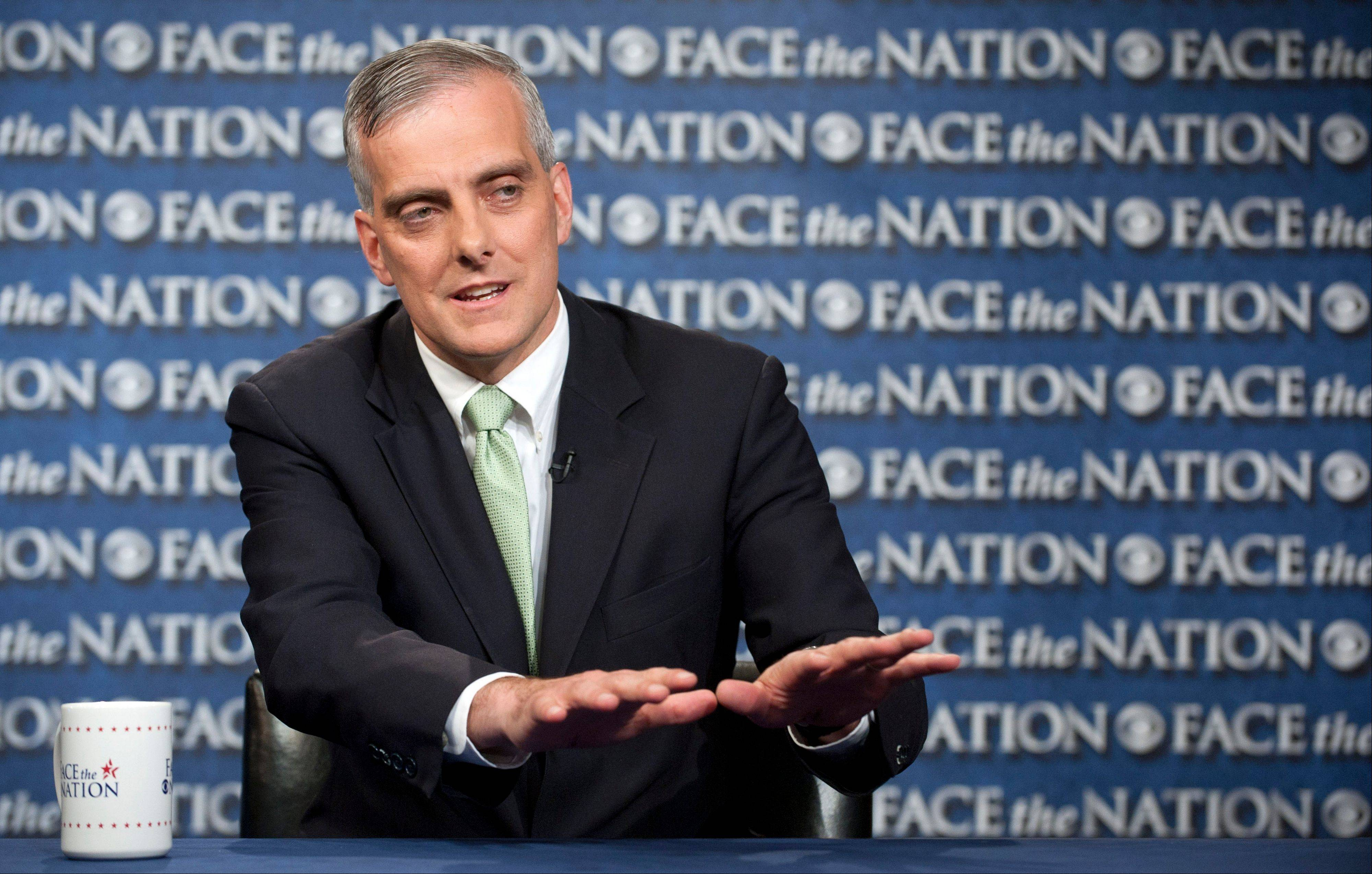 "White House Chief of Staff Denis McDonough, speaking on CBS's ""Face the Nation"" Sunday, said the government's reliance on data collection from both Americans and foreign nationals was constitutional and carefully overseen by executive, legislative and court authorities."
