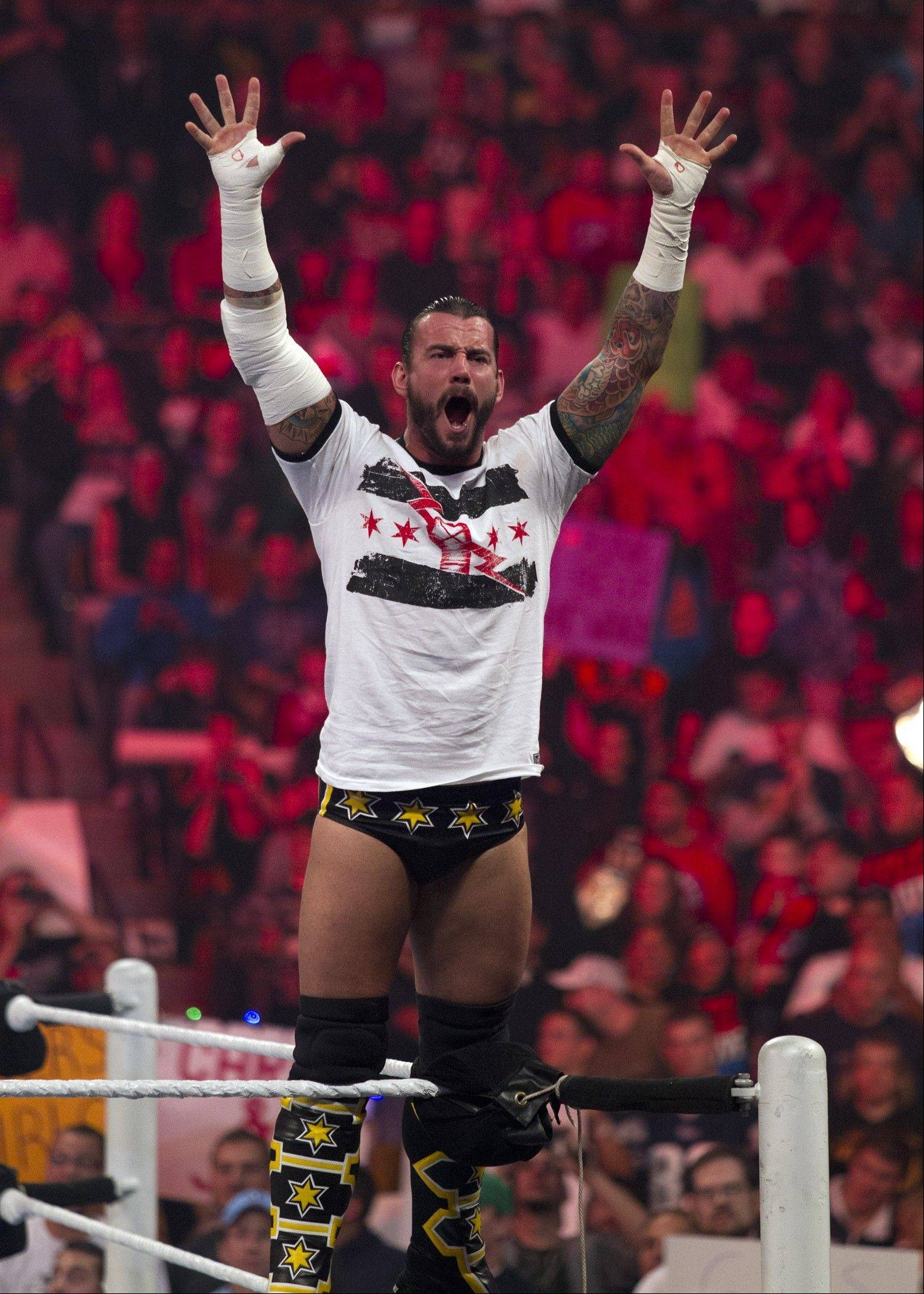 Chicago-native and WWE Champion CM Punk is set to compete at the Allstate Arena in Rosemont.