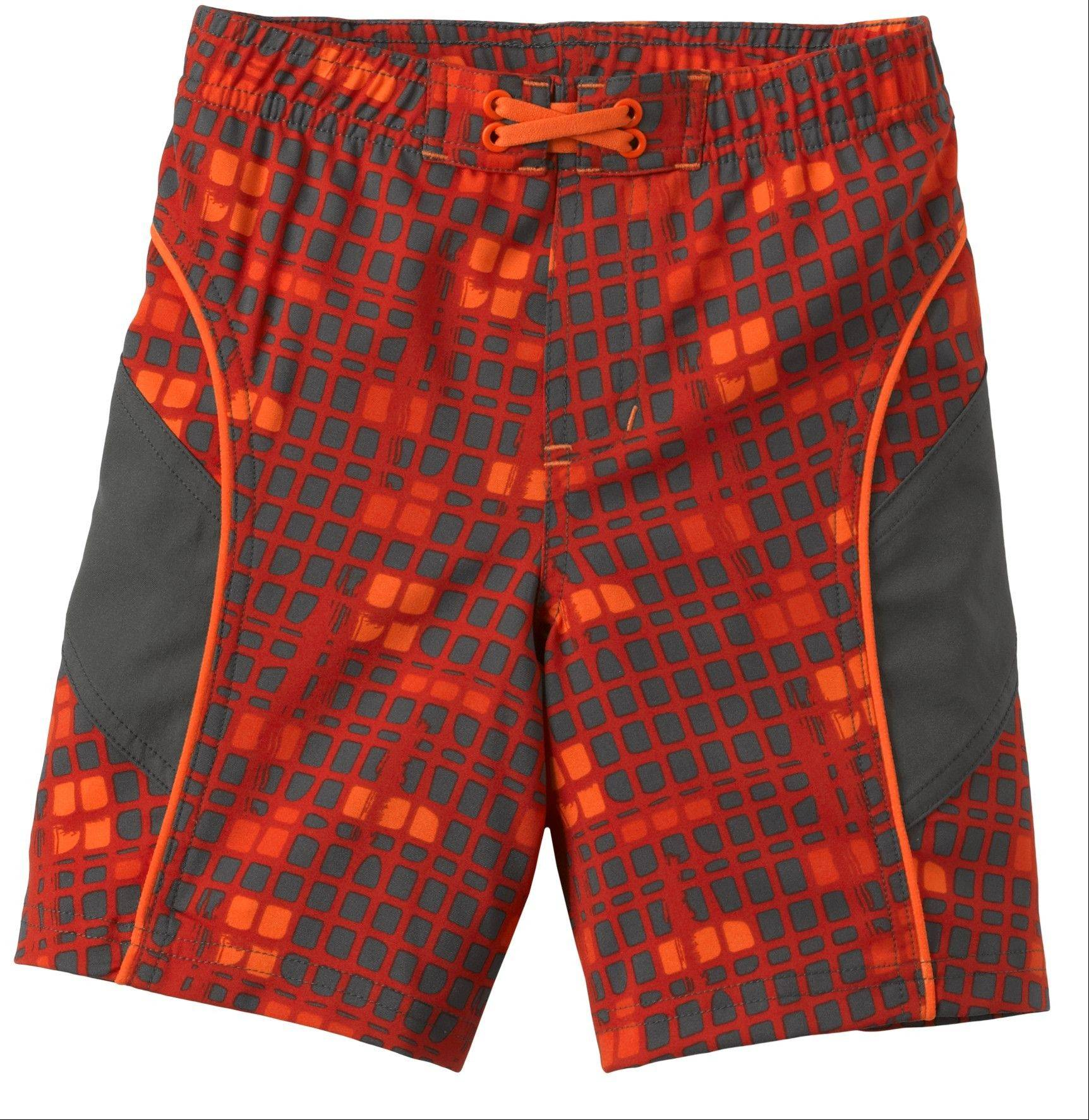 REI Sea Squirt Board Shorts for toddler boys, $13.19, REI stores and rei.com. These vibrant swim trunks are made of quick-drying polyester and provide UPF 50+ sun protection.