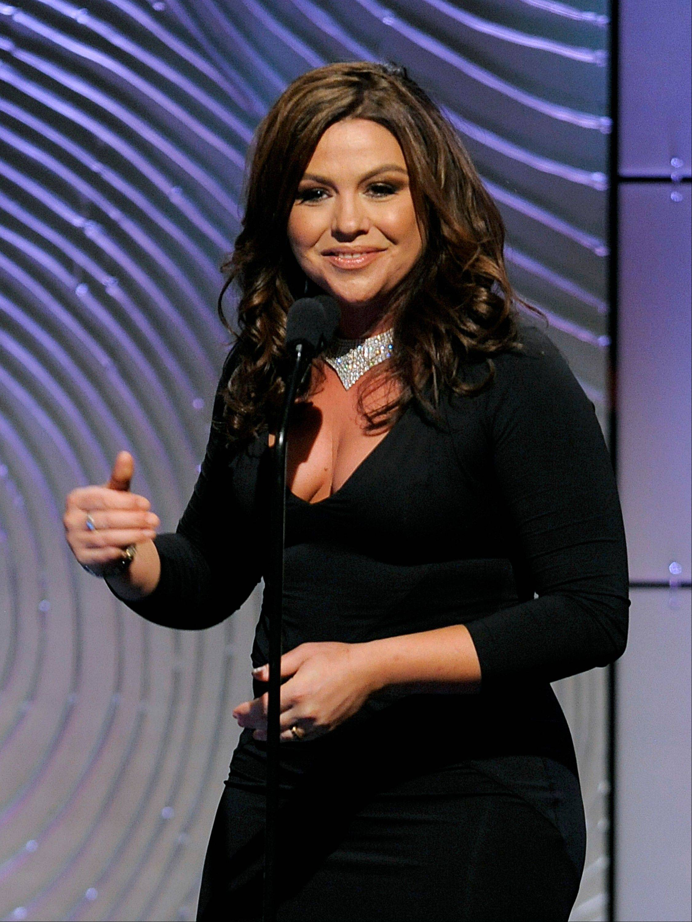 Rachael Ray speaks on stage at the 40th Annual Daytime Emmy Awards on Sunday, June 16, 2013, in Beverly Hills, Calif.