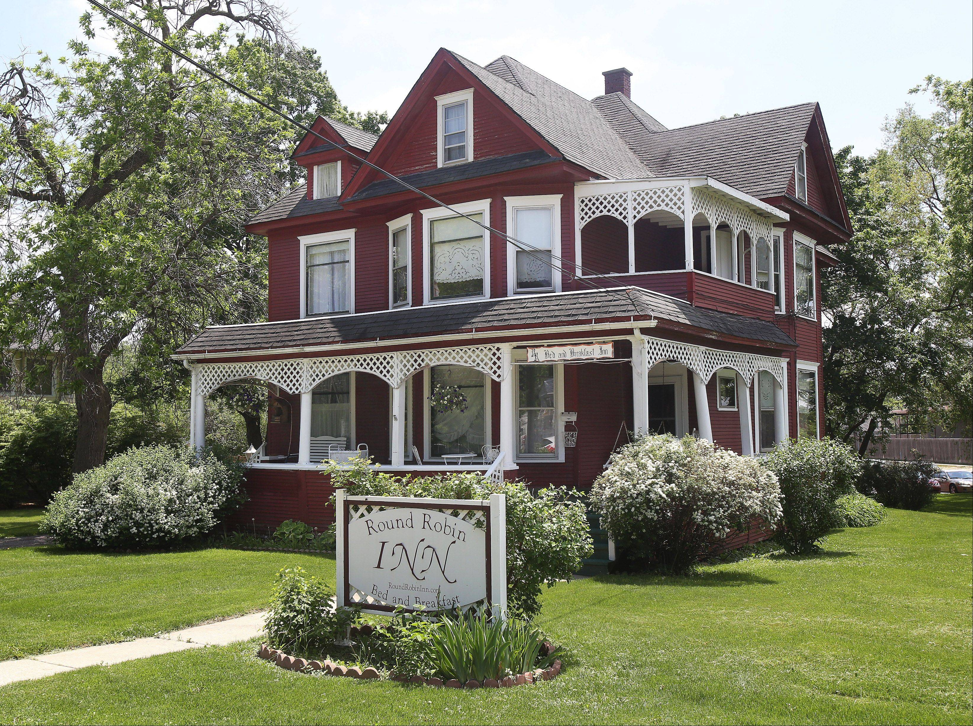 The Round Robin Inn bed and breakfast in Mundelein opened 25 years ago in a home built by Sylvester L. Tripp, who was elected mayor when the community was incorporated as Rockefeller in 1909.