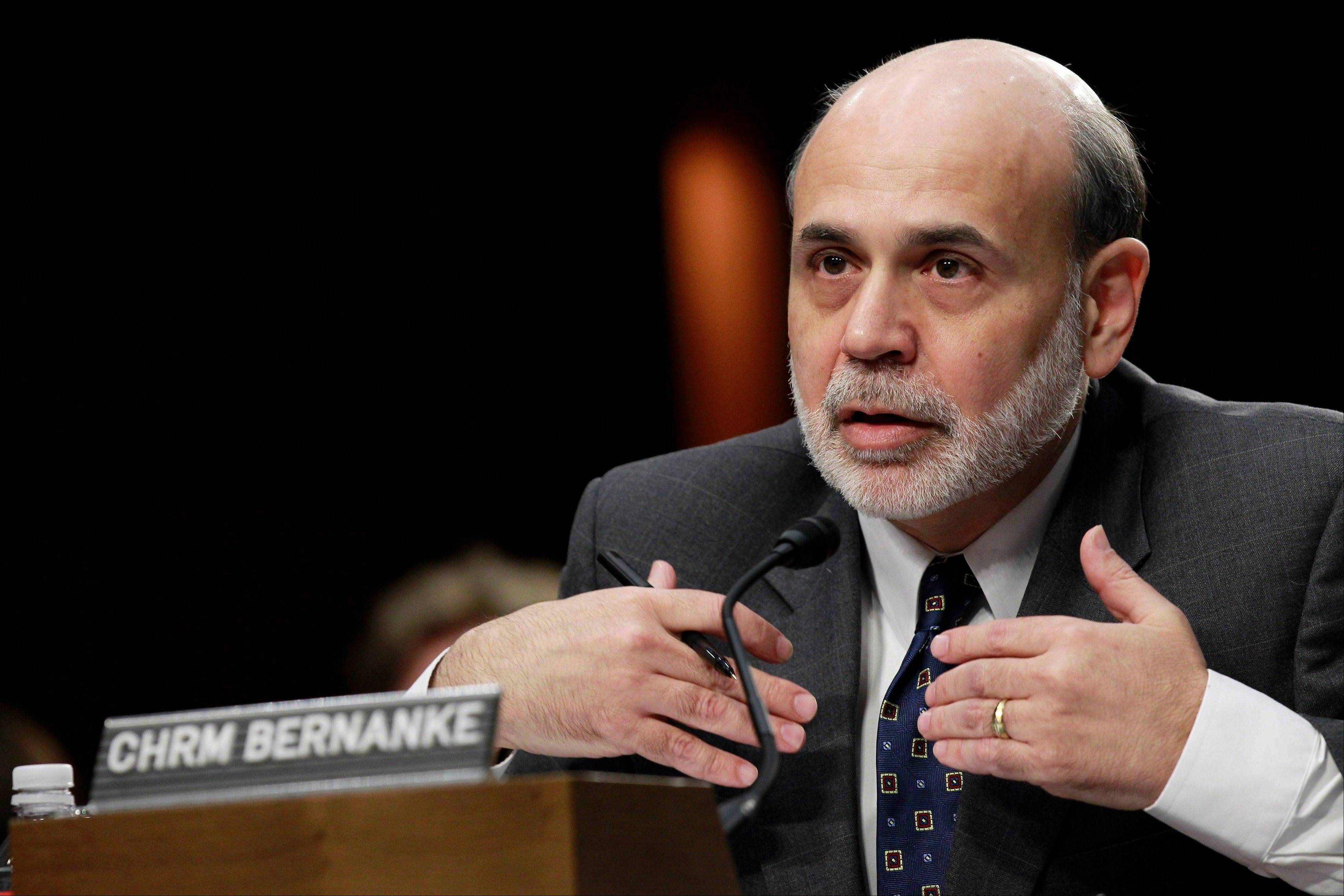 The financial world looks to Federal Reserve Board Chairman Ben Bernanke this week to clarify the Fed�s timetable on economic stimulus.