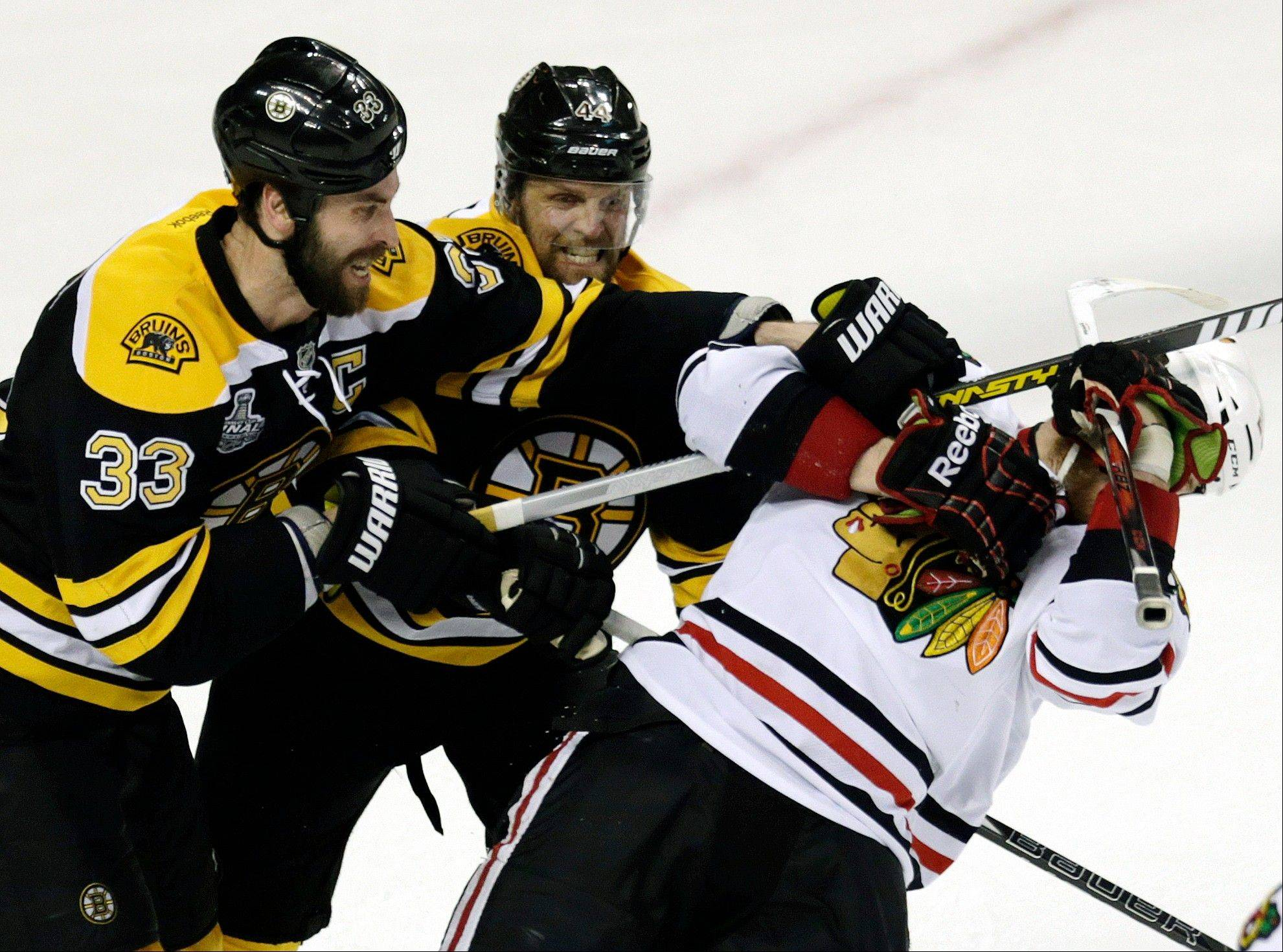 Images: Blackhawks vs. Bruins, Game Three