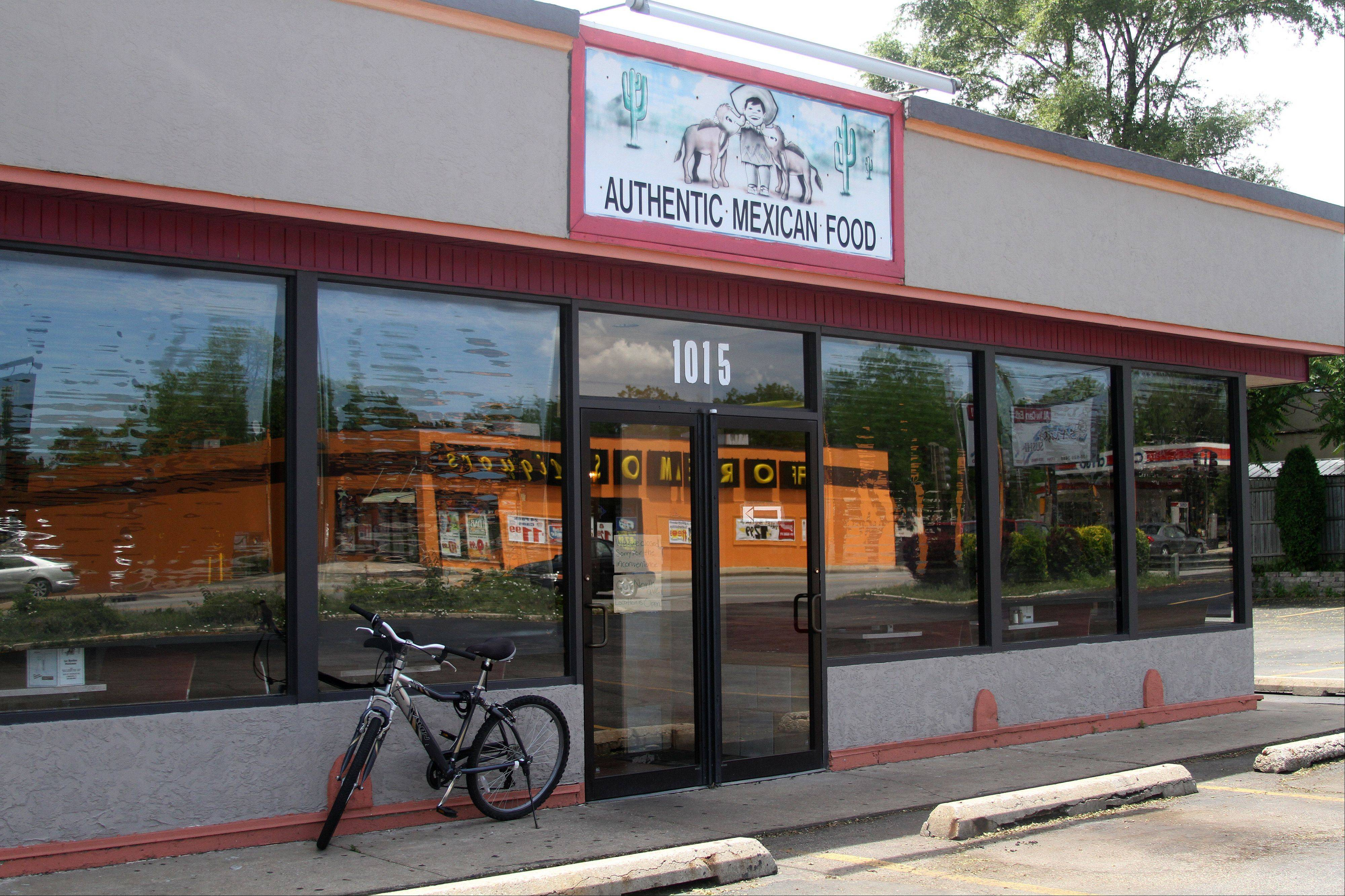 Los Burritos Mexicanos, at 1015 E. St. Charles Road, Lombard, remained closed Monday after the DuPage County Health Department said there were four confirmed cases of the same strain of E. coli bacteria in people who ate at the restaurant.