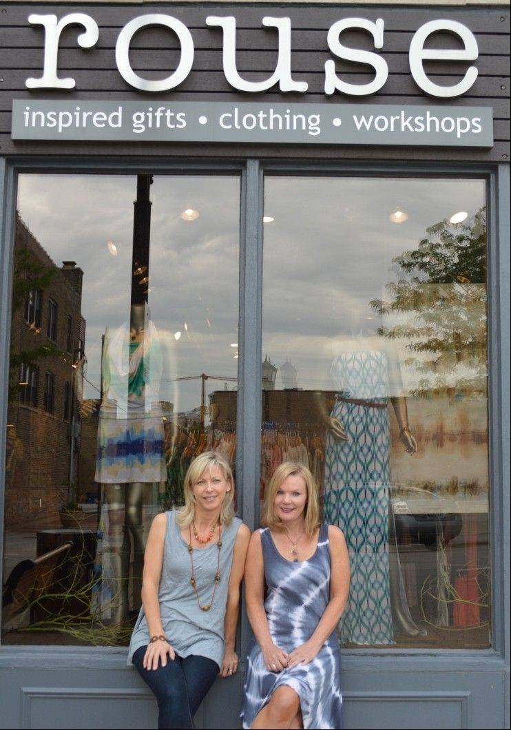Leslie Pozen, left, and Angie Pool are owners of Rouse on Addison Street in Elmhurst.