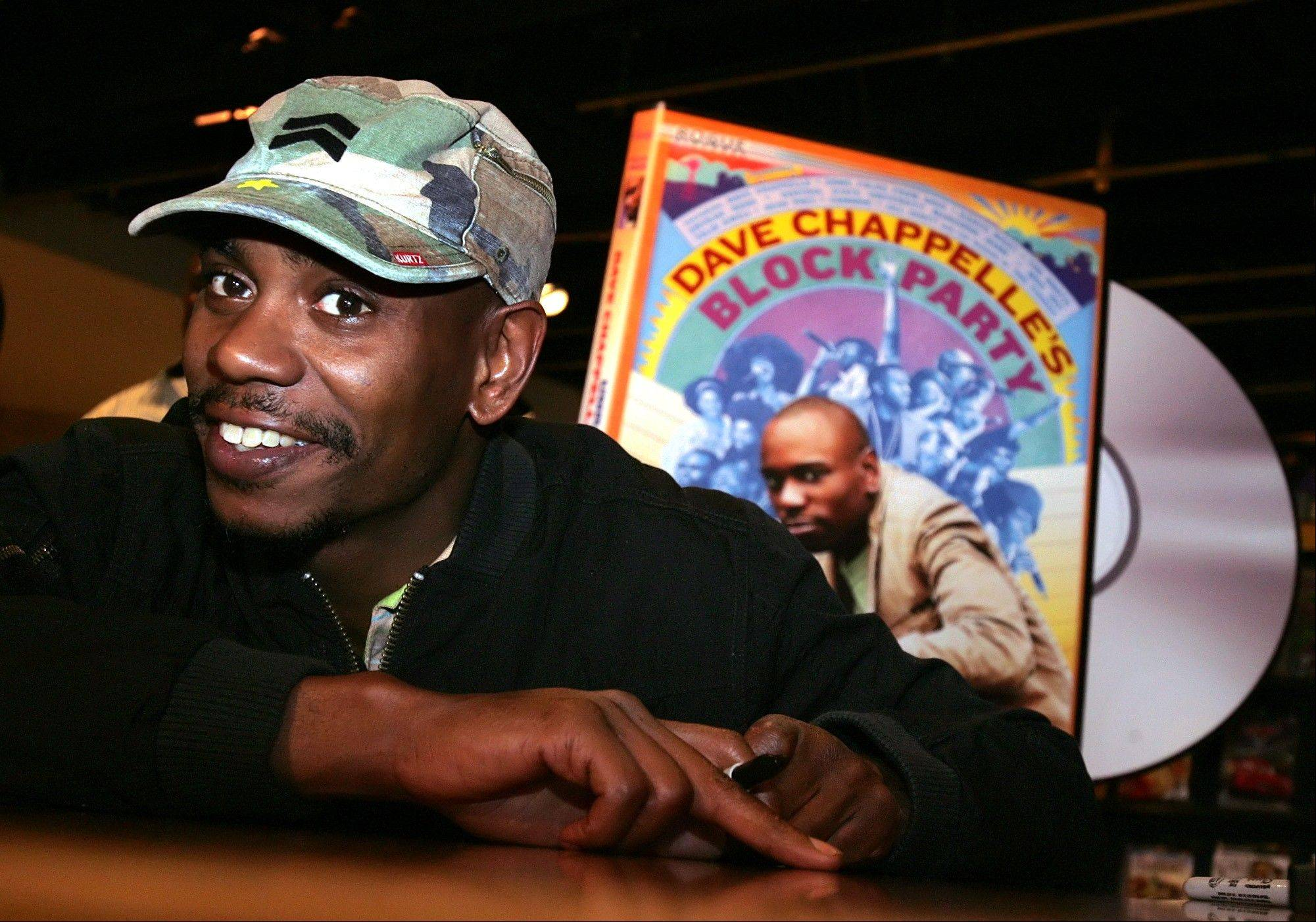 Comedian Dave Chappelle will make his most substantial return to stand-up comedy in a monthlong tour for Funny Or Die. He's coming to the First Midwest Bank Amphitheatre in Tinley Park on Saturday, Aug. 31.