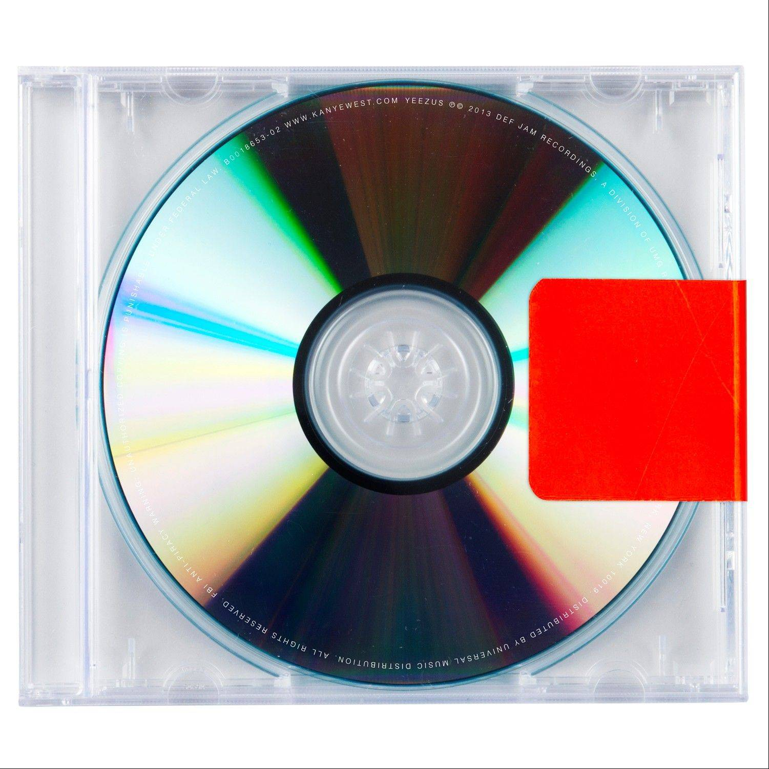 """Yeezus"" the latest release by Kanye West"