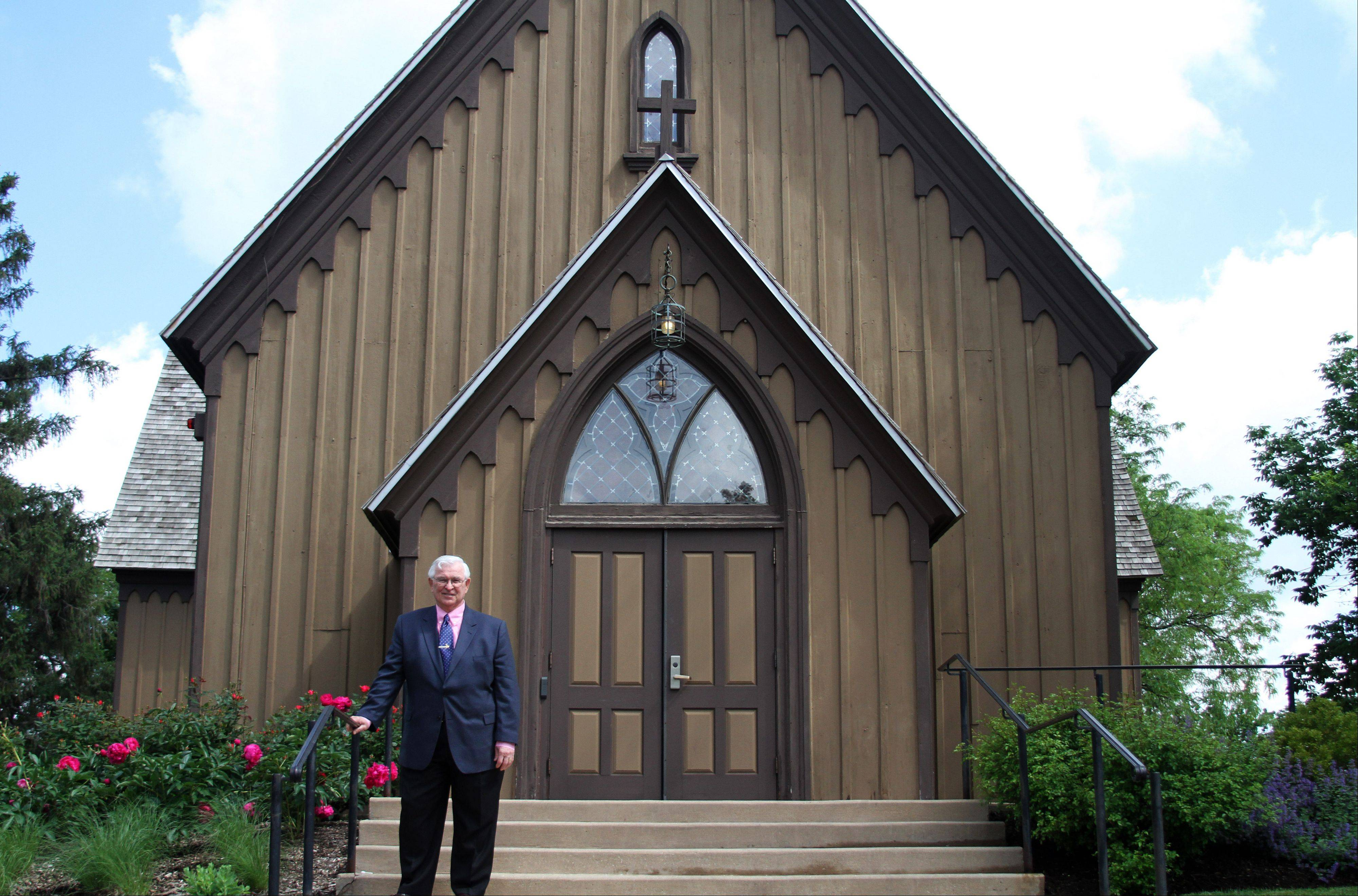 About 80 weddings a year are held in Naper Settlement's Century Memorial Chapel, and interim President and CEO Mike Krol hopes to build partnerships with local hotels housing out-of-town guests.