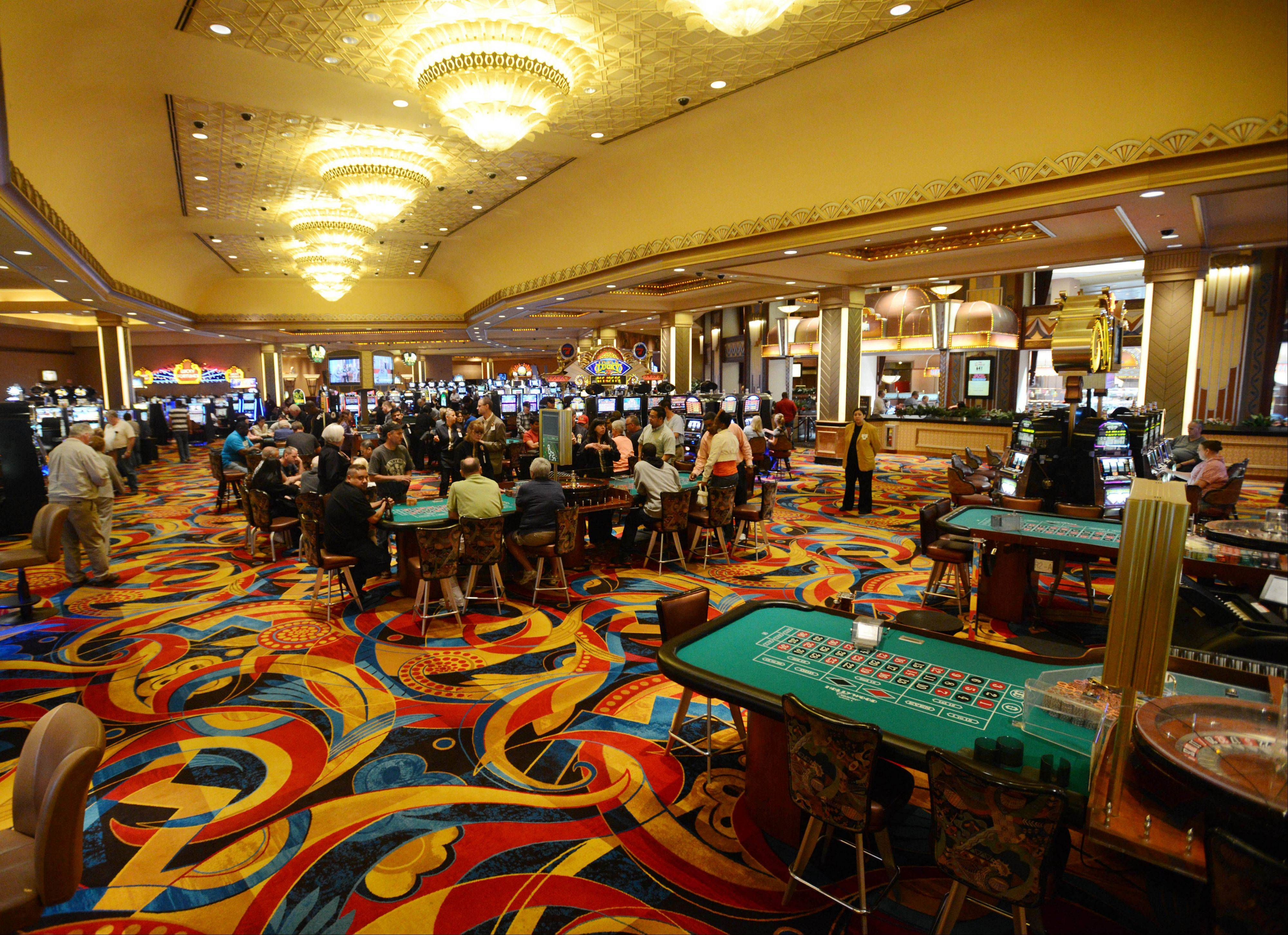 Adorned With New Carpet Installed In April, Hollywood Casino Aurora Is  Celebrating Its 20th Anniversary