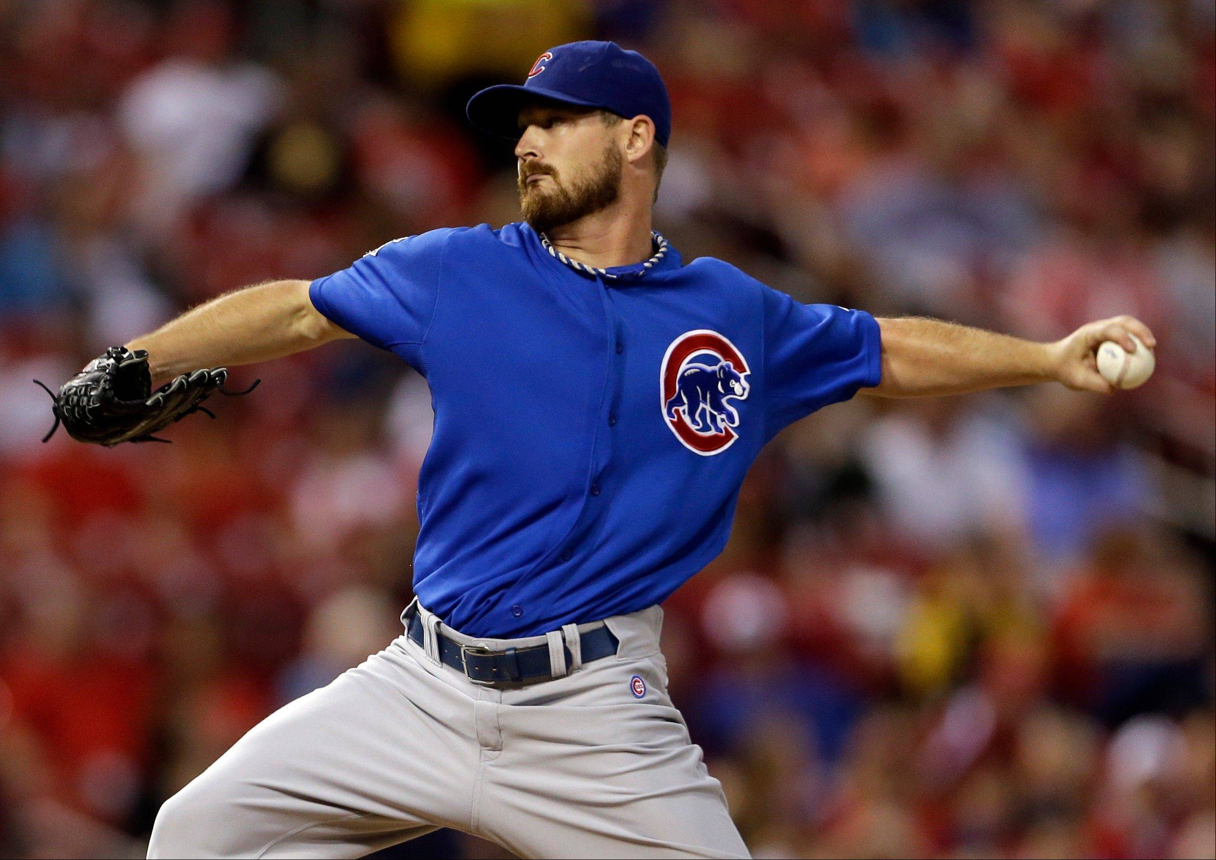 Cubs starting pitcher Travis Wood has a 2.70 ERA in 20 innings of work in his last three starts -- all losses.