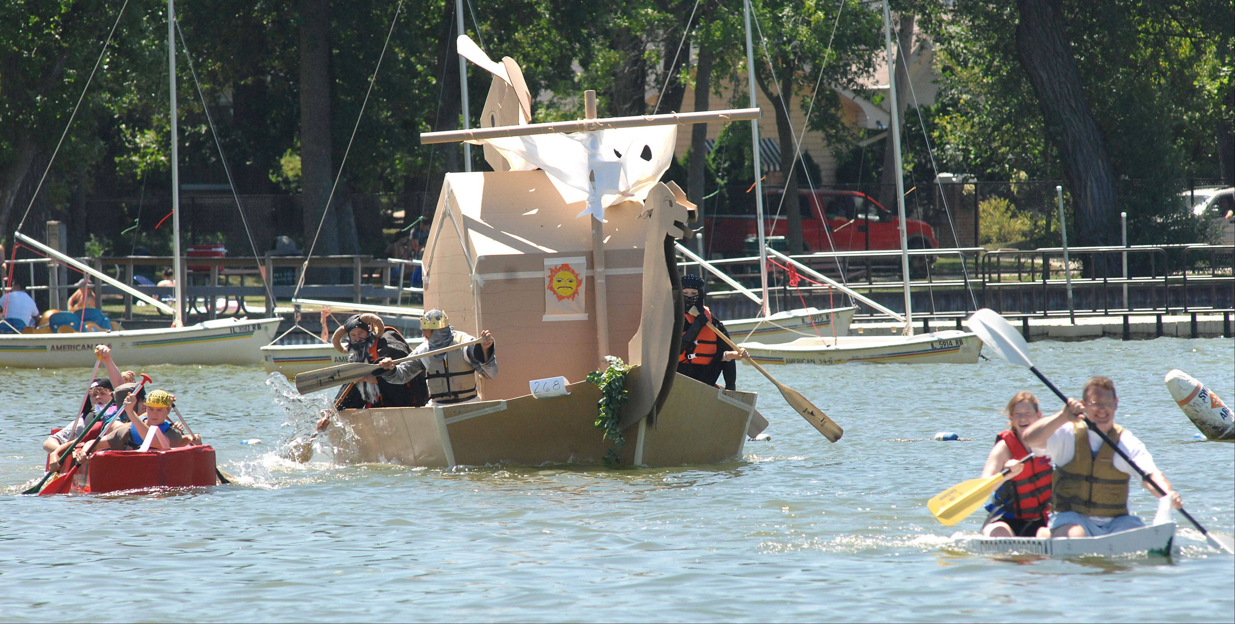 Start building your own cardboard boat for the 29th annual America's Cardboard Cup Regatta, which will be Saturday, June 22,