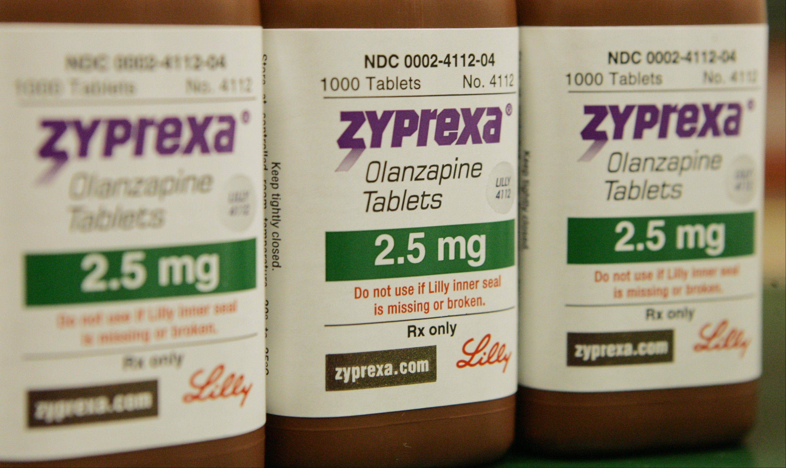 The Food and Drug Administration said Tuesday that two patients died three to four days after receiving an appropriate dose of the drug known as Zyprexa Relprevv.