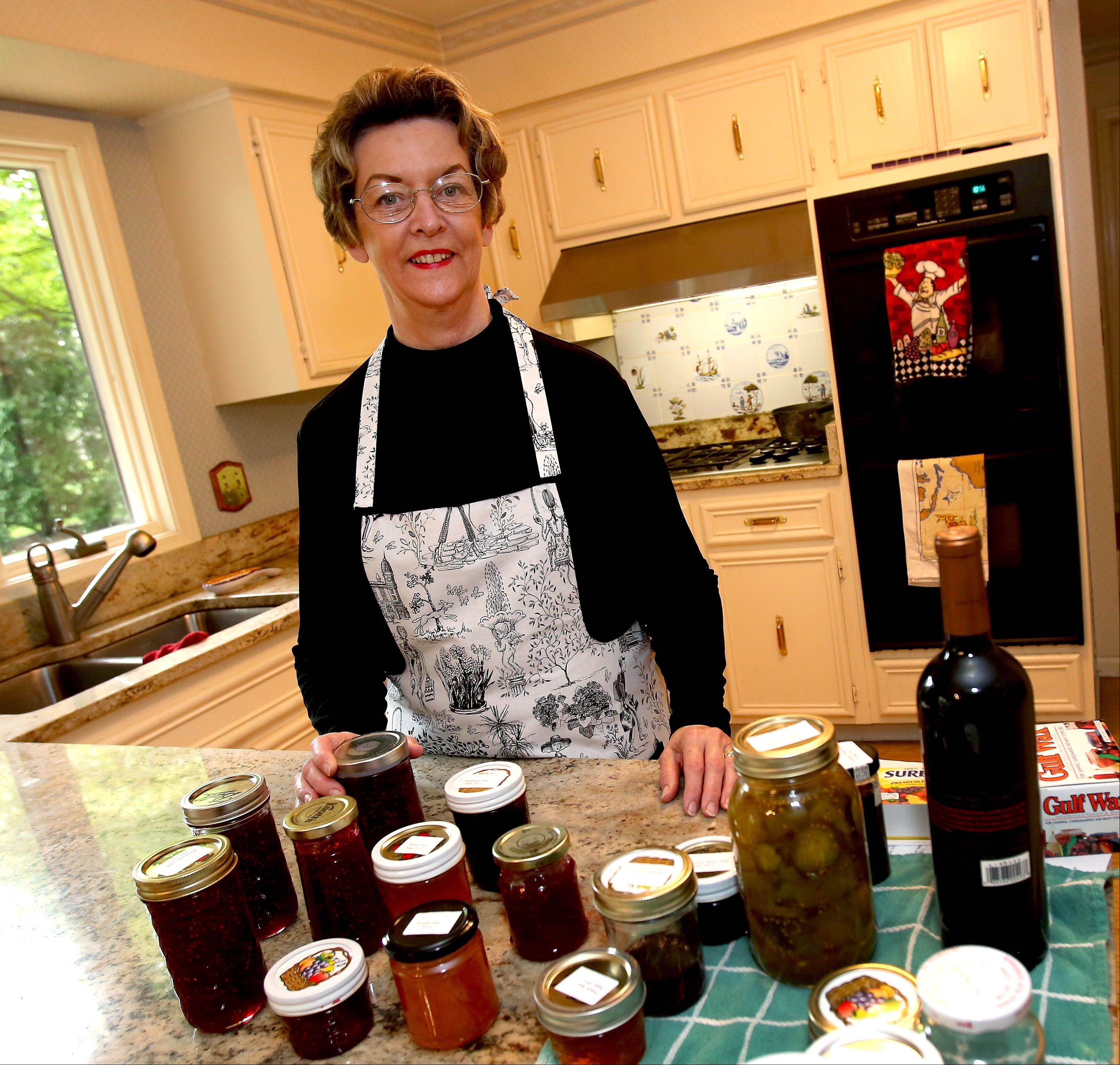 Give her a bushel of fruit, some sugar and Sure-Jell, and Trudy Van Slooten will cook up a batch of jam.