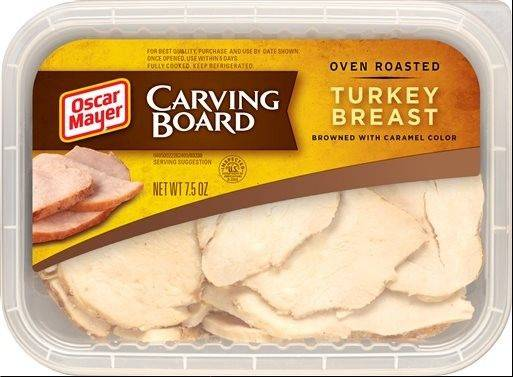 Northfield-based Kraft Foods took more than two years to develop a process to make the thick, uneven slabs of turkey in its Carving Board line look like leftovers from a homemade meal rather than the cookie-cutter ovals typical of most lunchmeat.