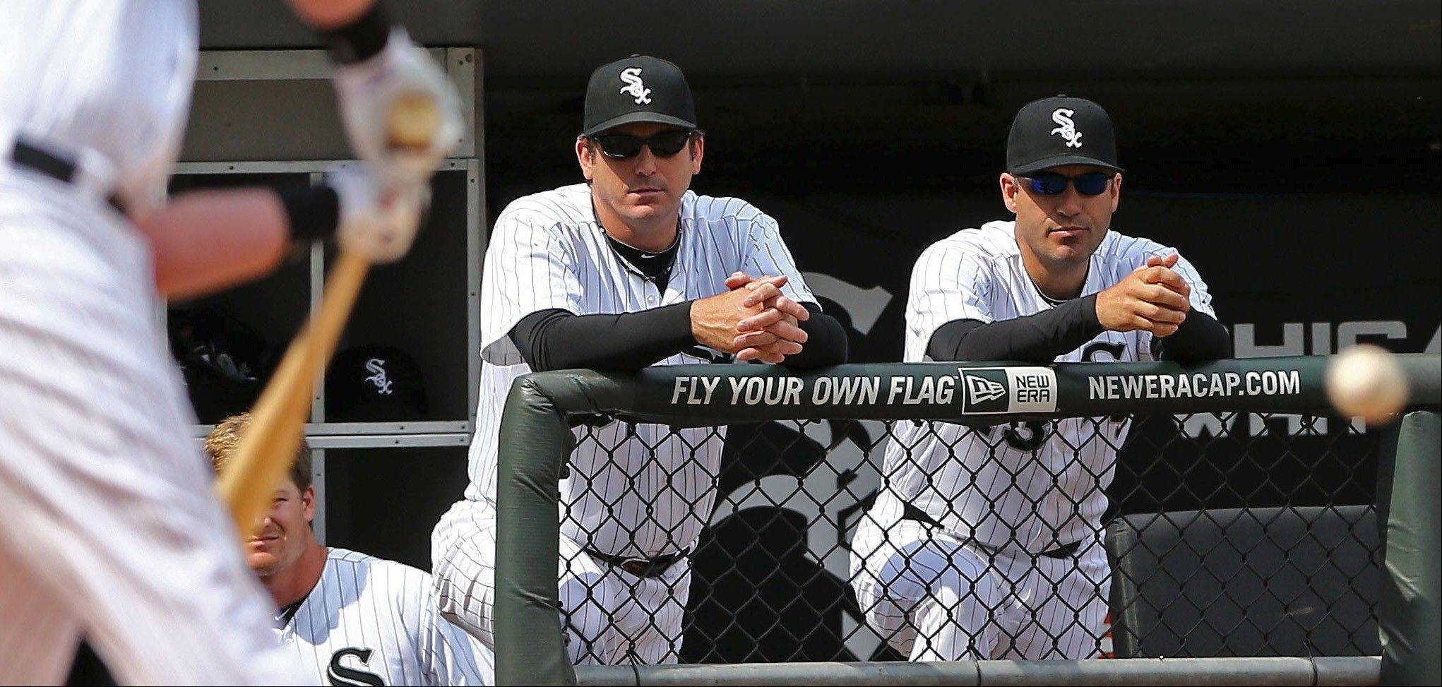 White Sox manager Robin Ventura, far right, has watched his club struggle in the first half of the season, and Mike North wonders if Ventura has the right demeanor to turn this team around.