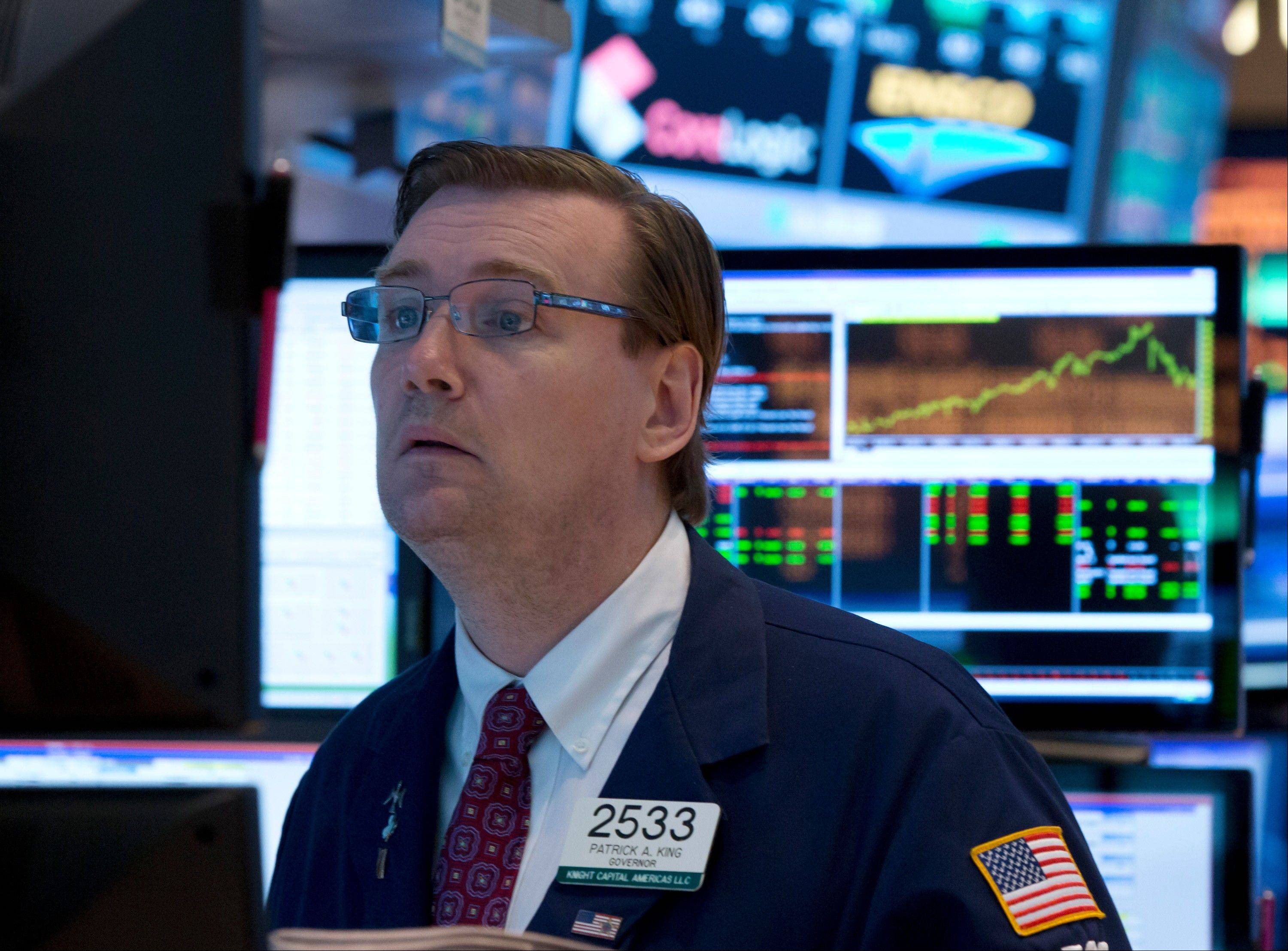 U.S. stocks rose for a second day, pushing the Standard & Poor's 500 Index to its highest in June, as investors awaited the outcome of a Federal Reserve policy meeting for clues to the central bank's plan for stimulus.