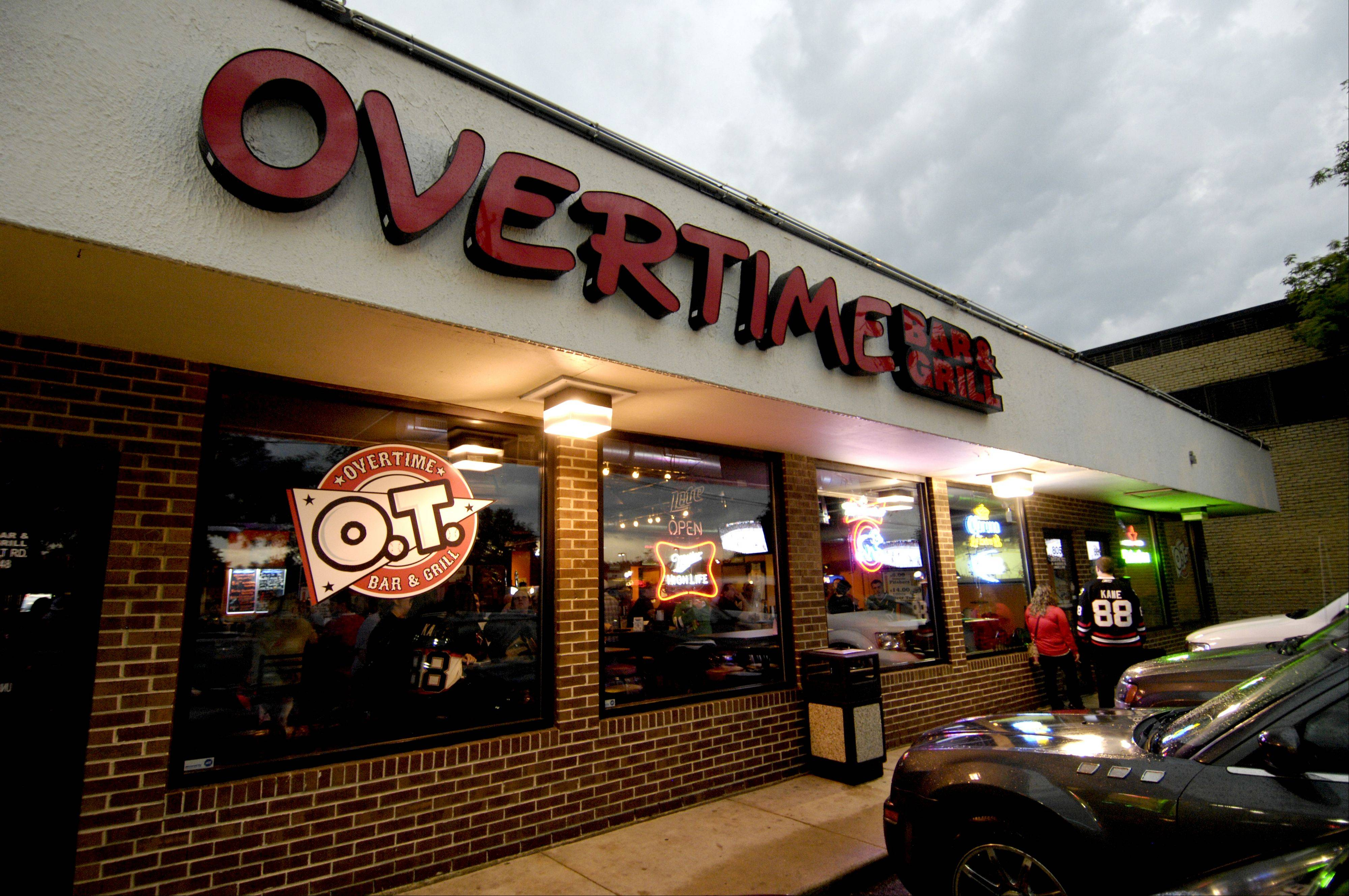 Lombard's Overtime Bar & Grill opened in December.