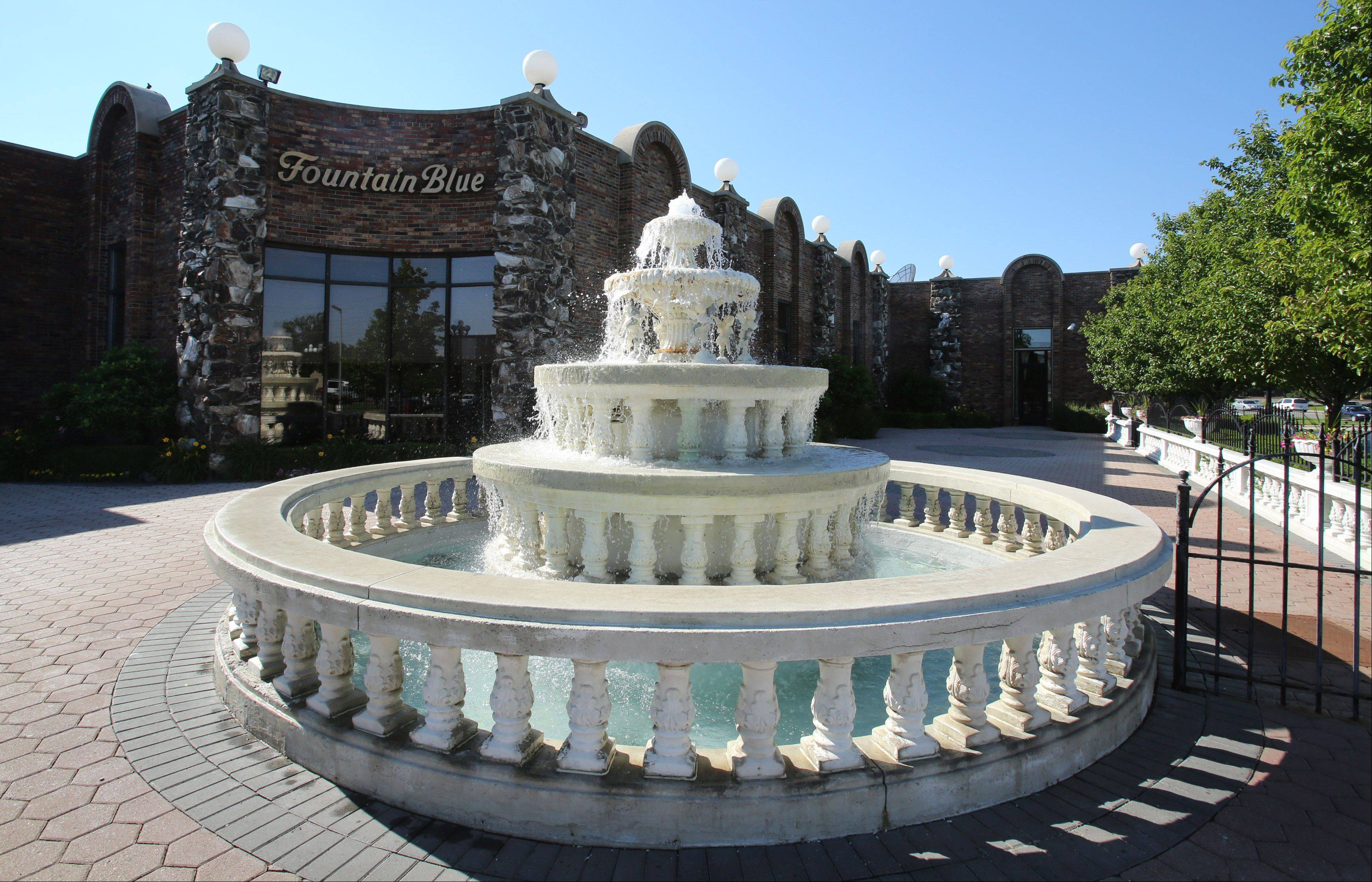 Fountain Blue Banquets & Conference Center in Des Plaines on June 18, 2013.